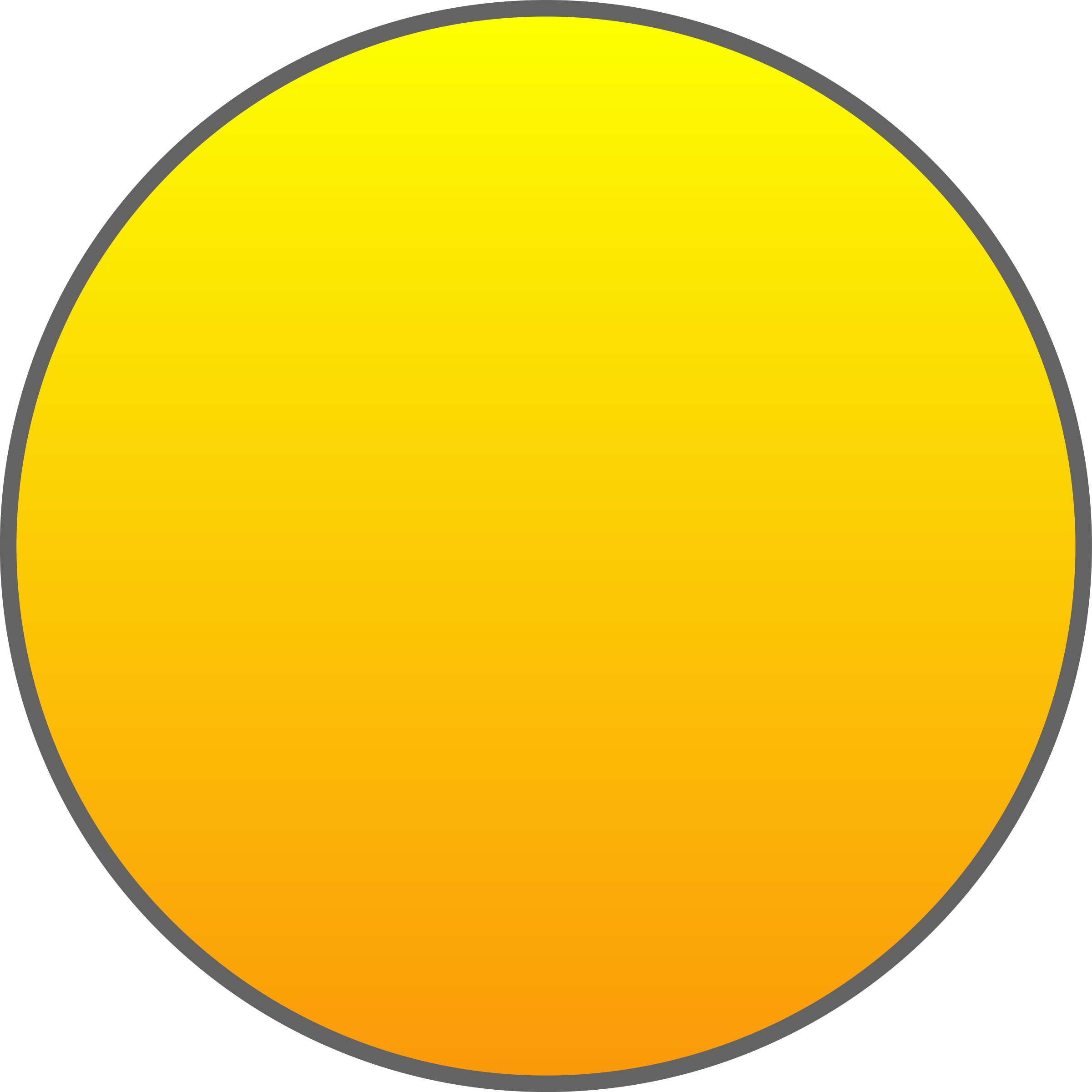 Orange Sun Outlined by qubodup