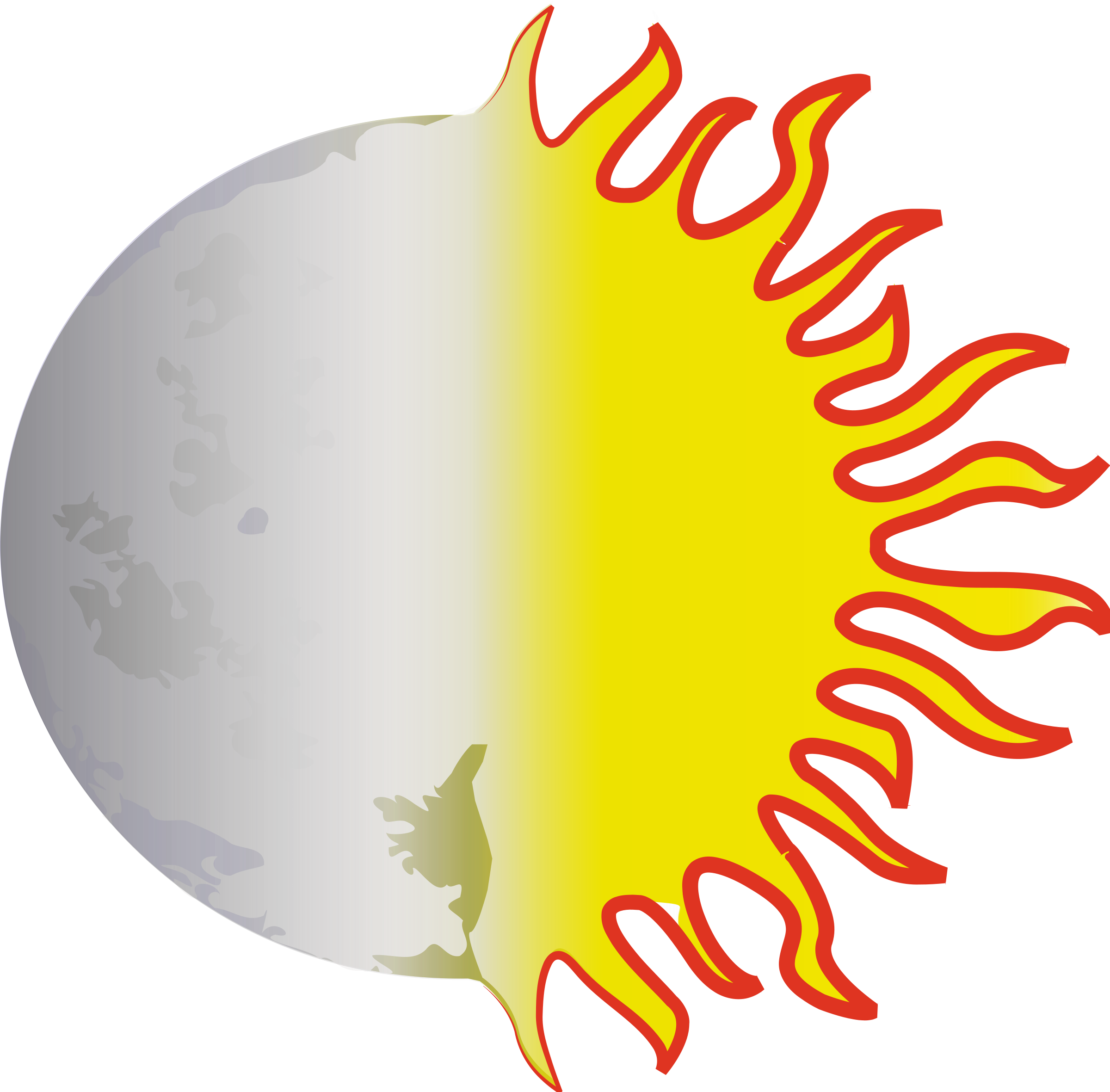 clipart image of moon - photo #44