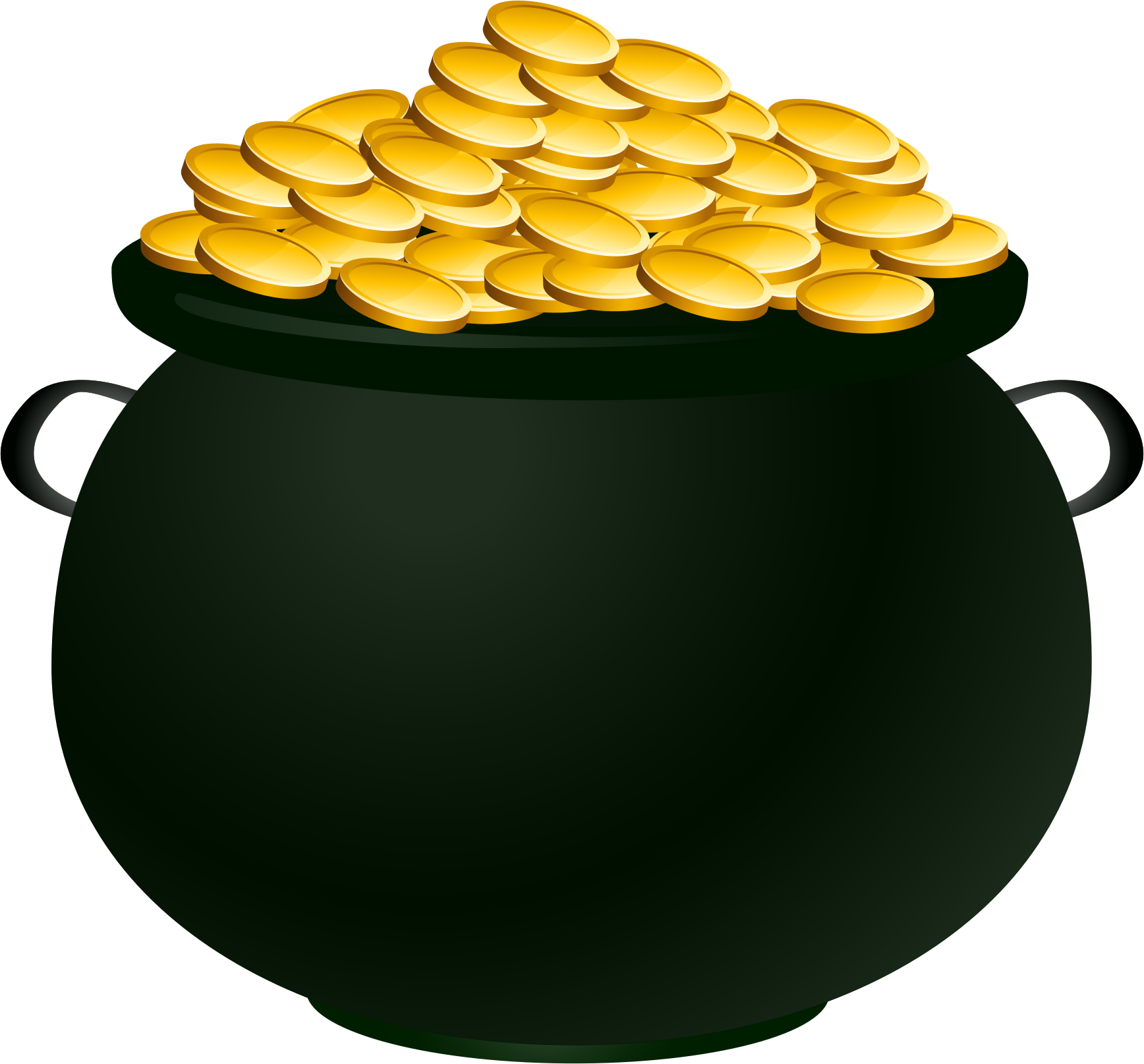 clipart pot of gold