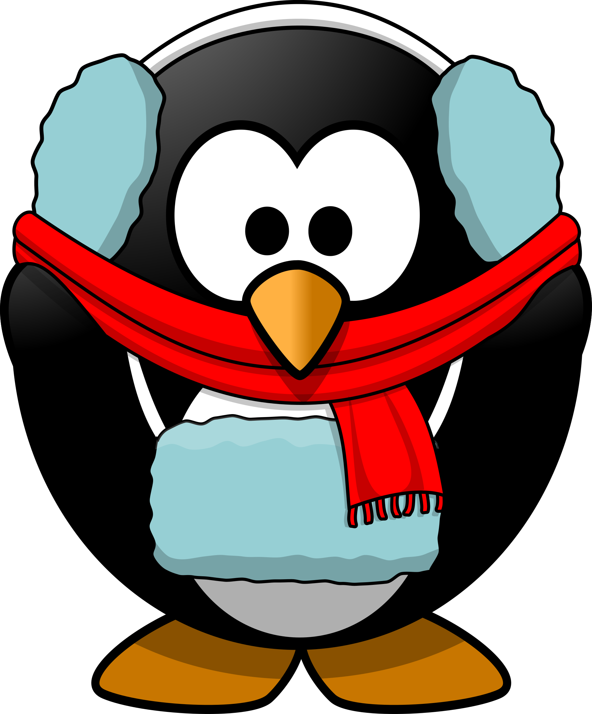 Freezin' Penguin by Moini