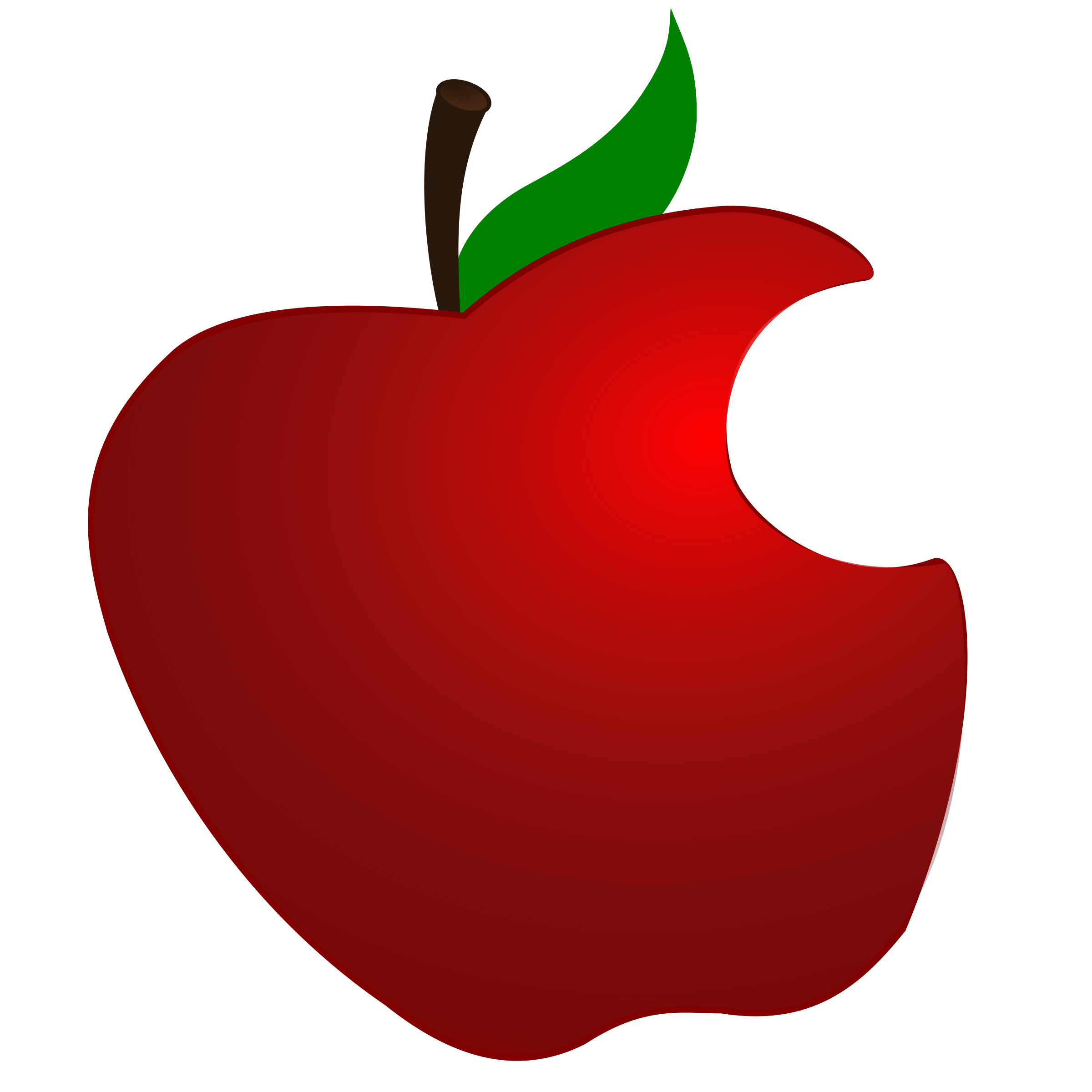 Apple with Bite by LibertyBudget.com
