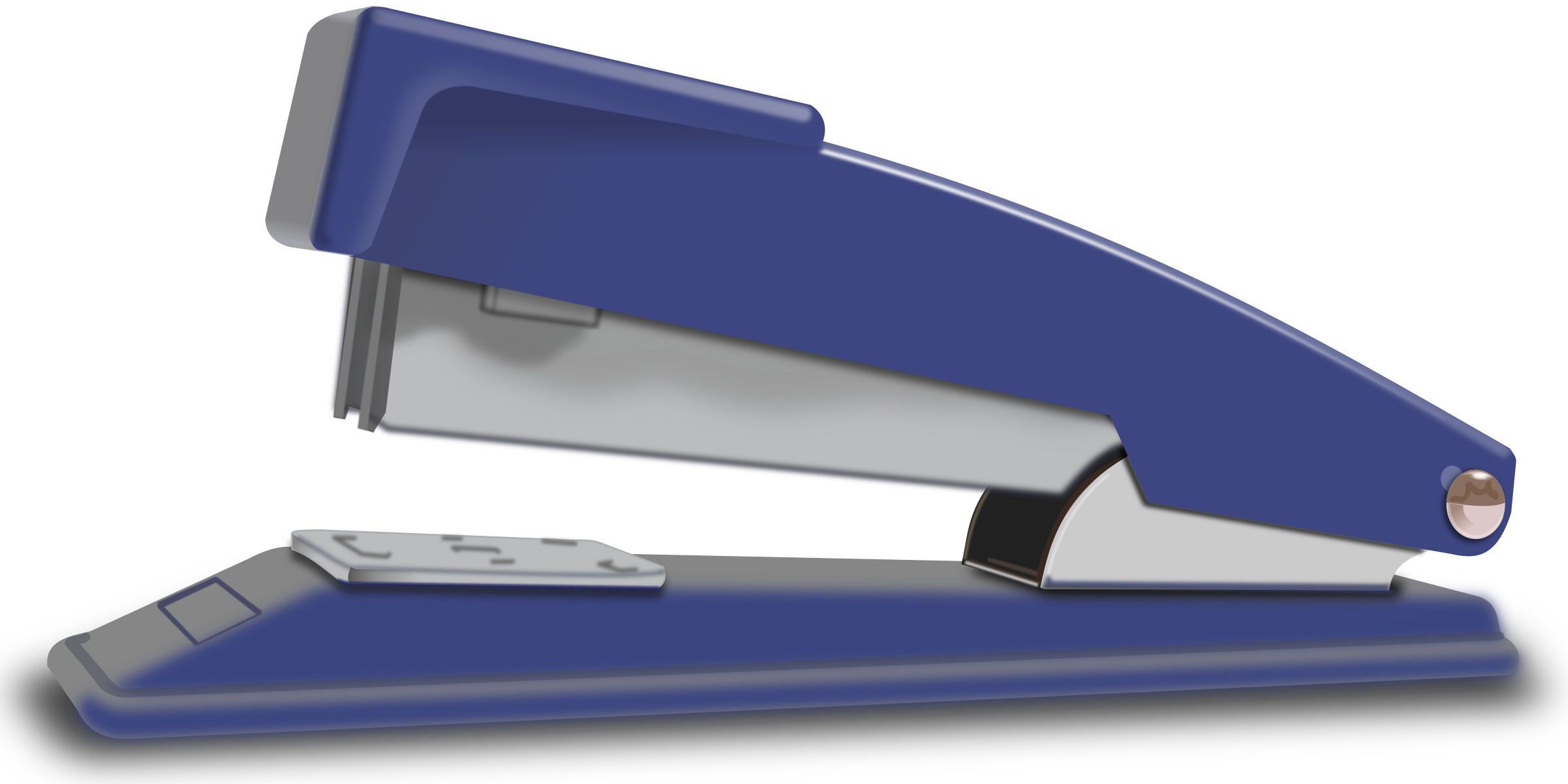 Blue Stapler by jimmiet
