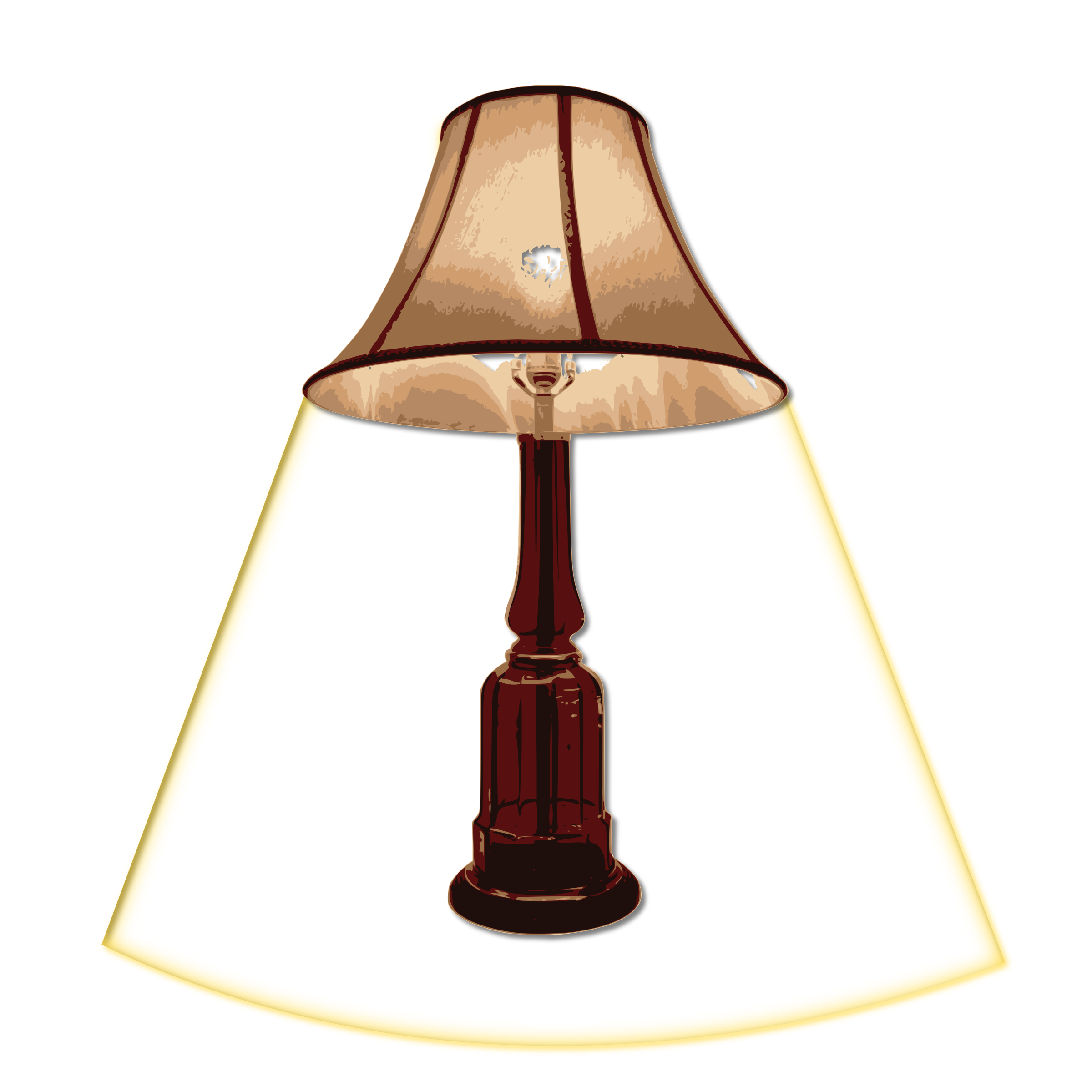 table lamp turn on by loveandread