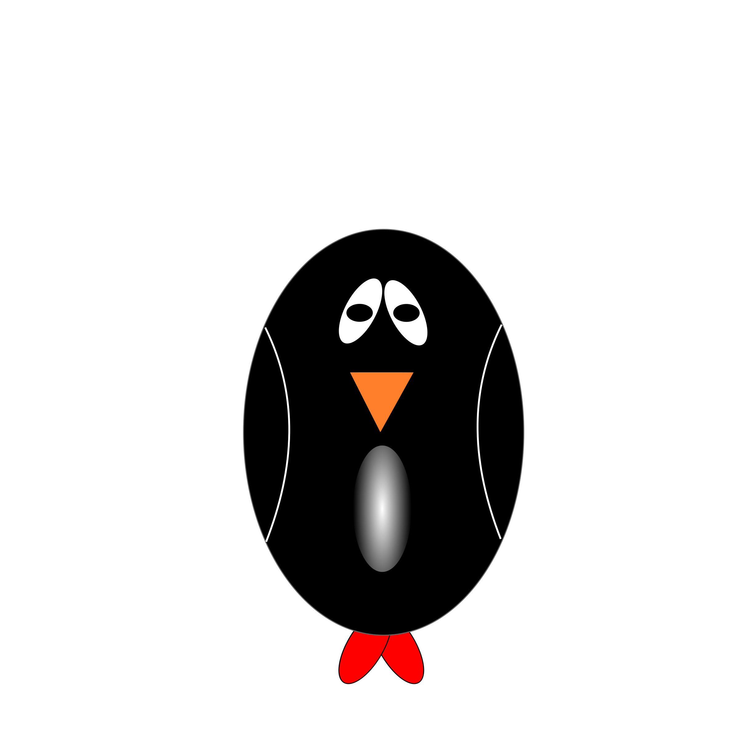 Sad Penguin  by Siddymcbill