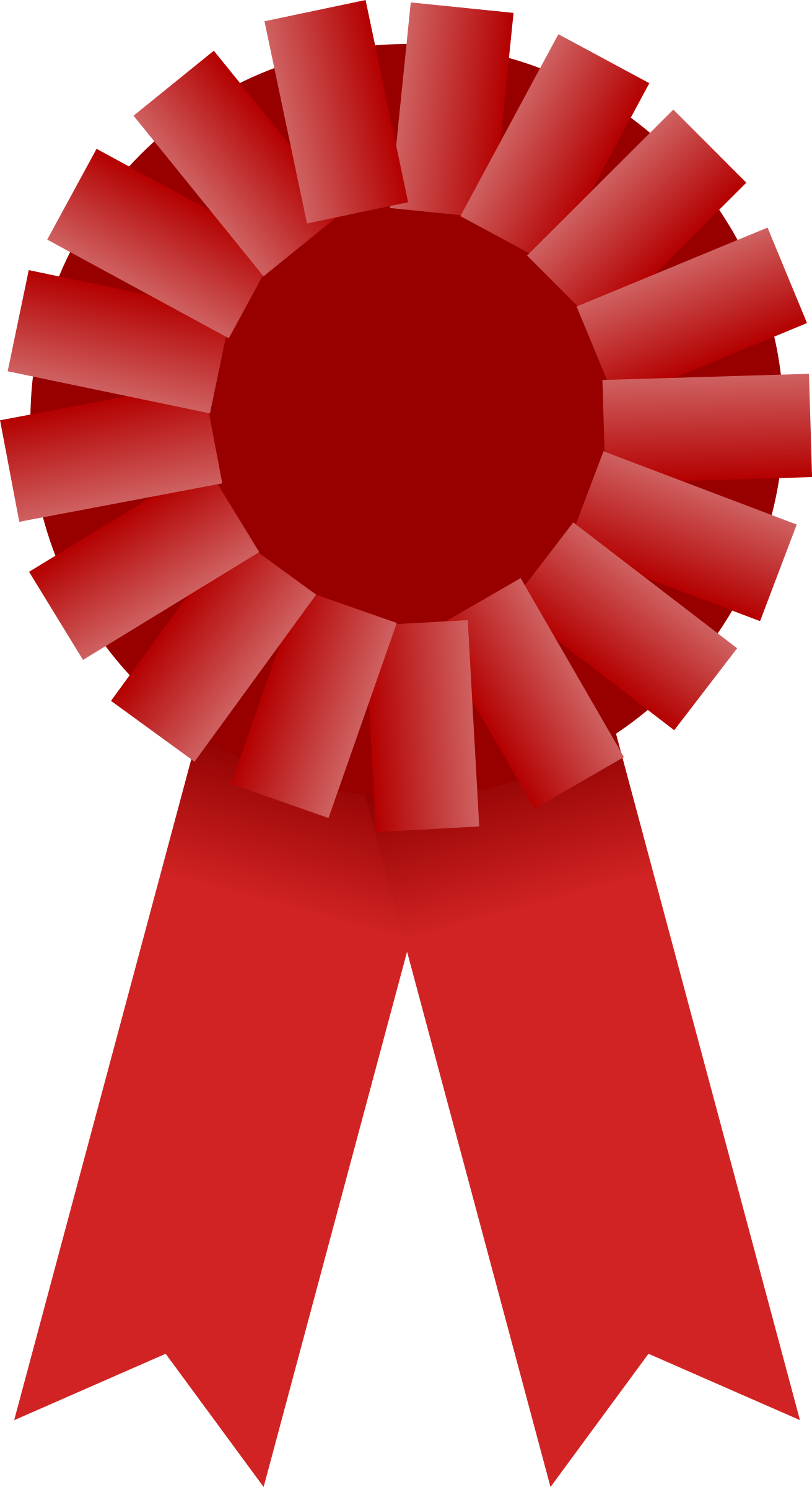Award Ribbon -- Red by Mirek2