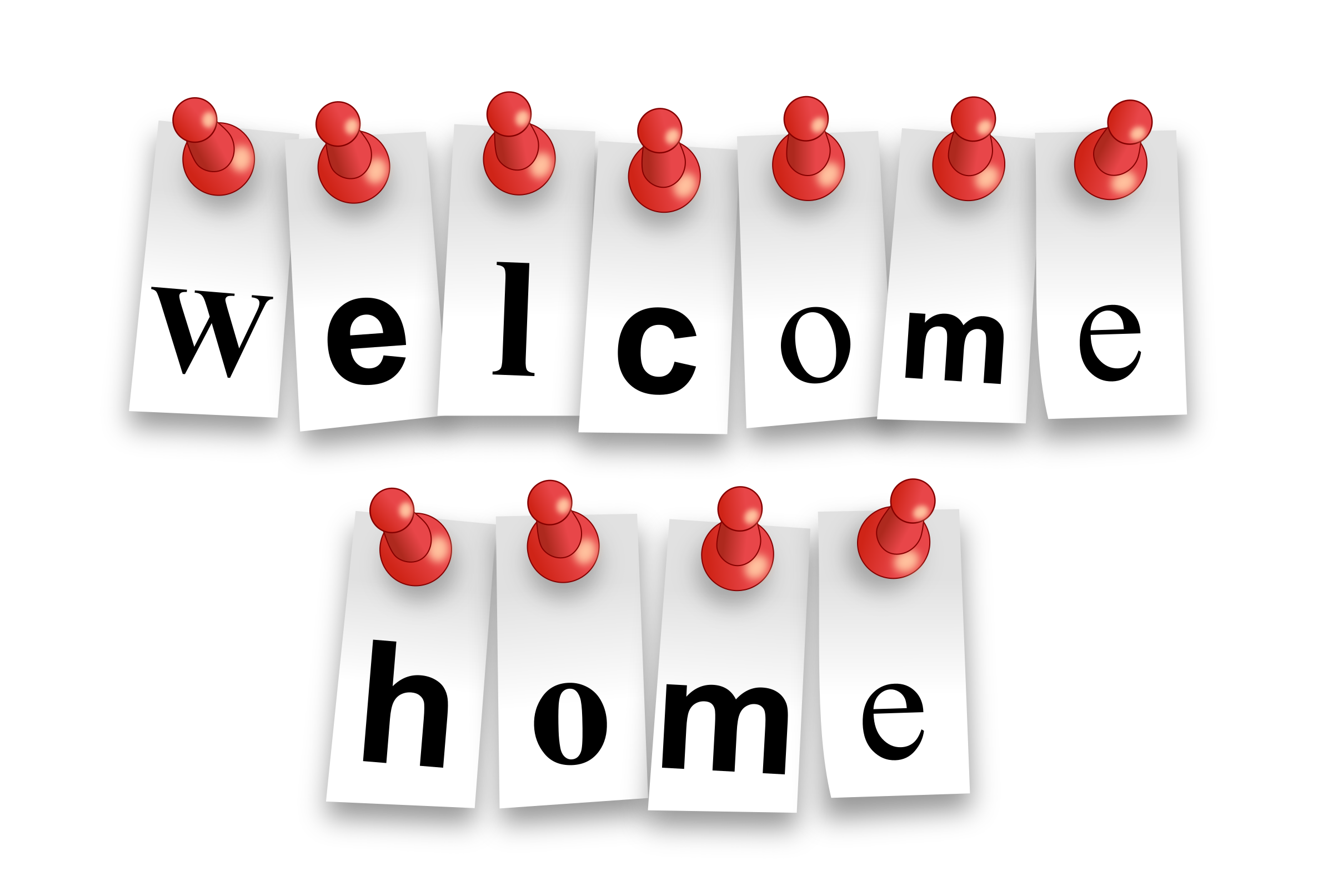 Welcome Home Notes by bktheman