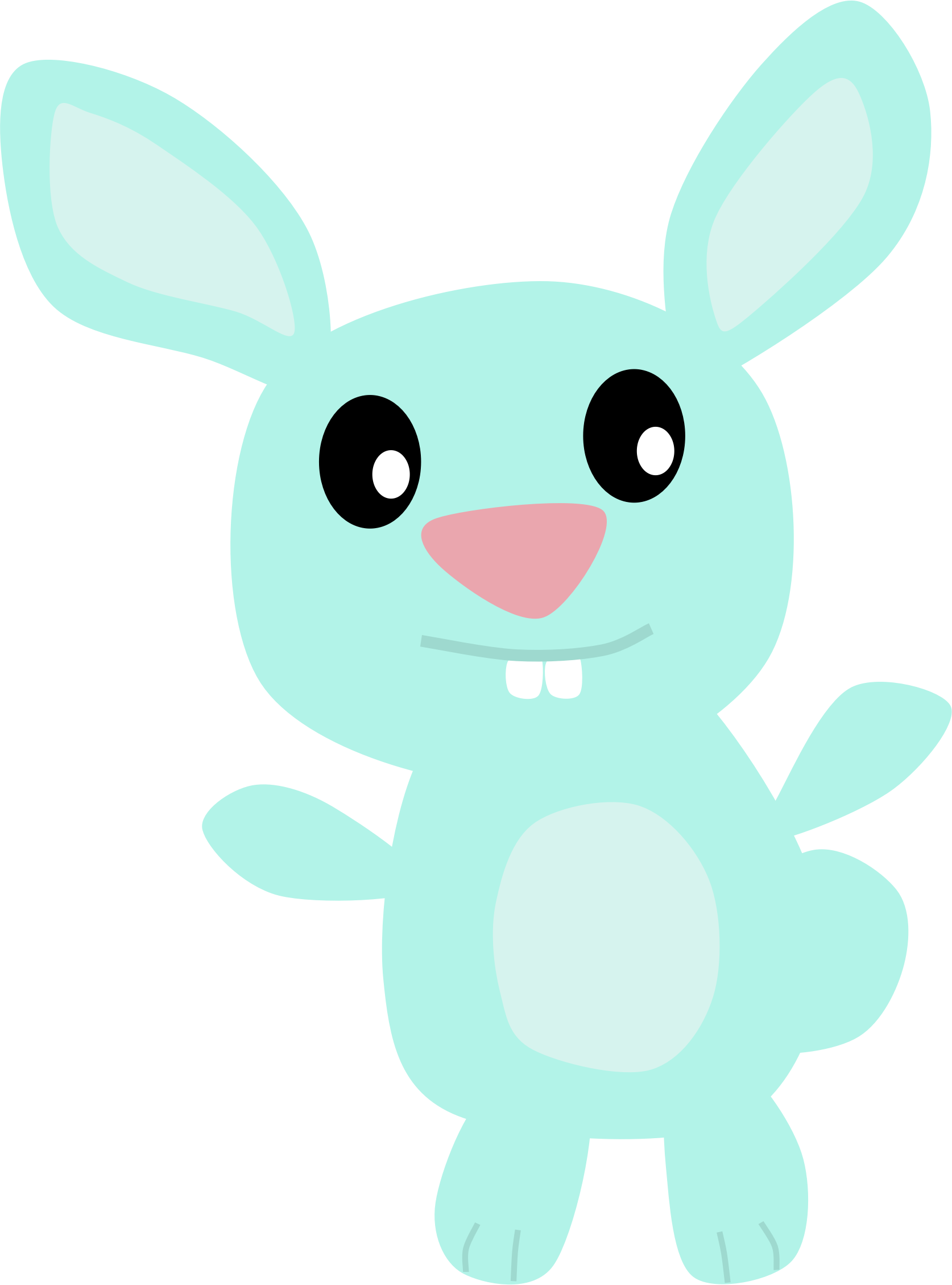Blue Bunny by Scout