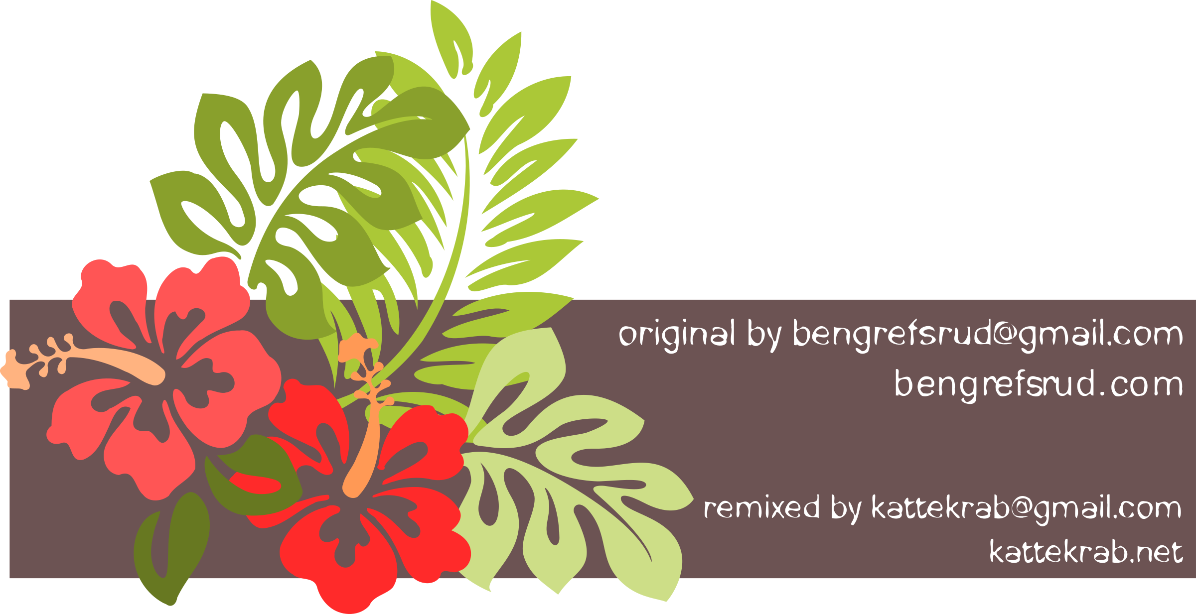Hibiscus Remixed by kattekrab