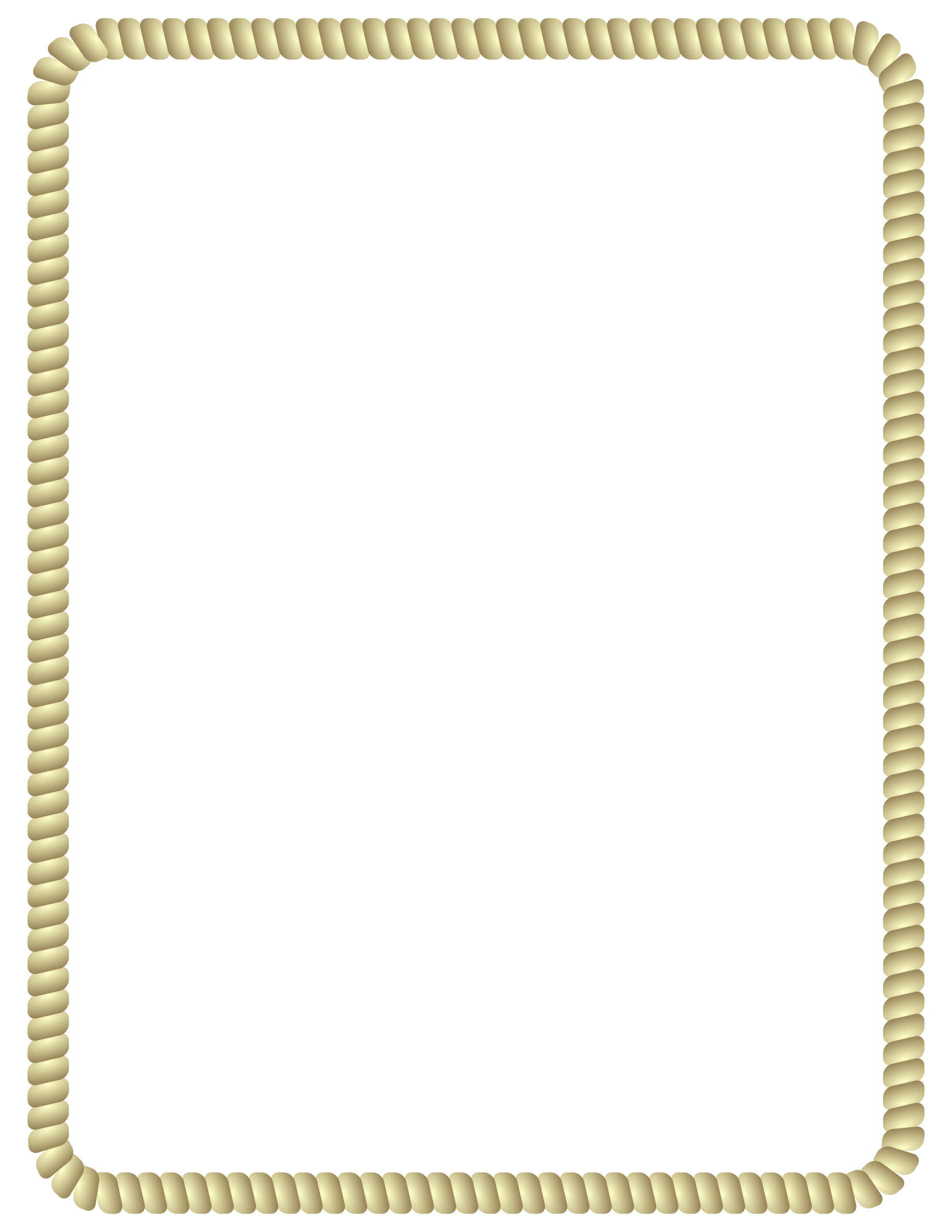 Clipart Rope Border