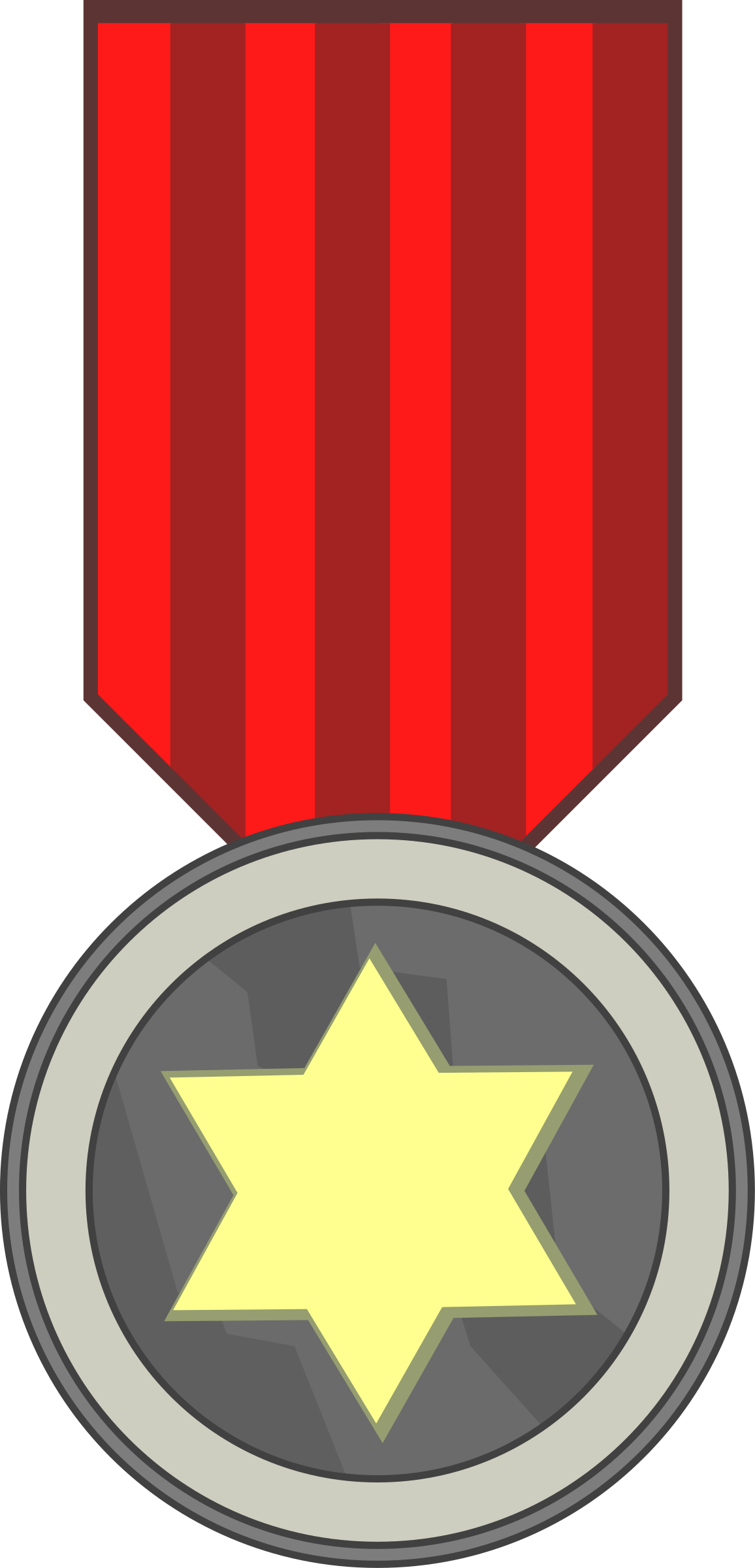star award medal by Tavin