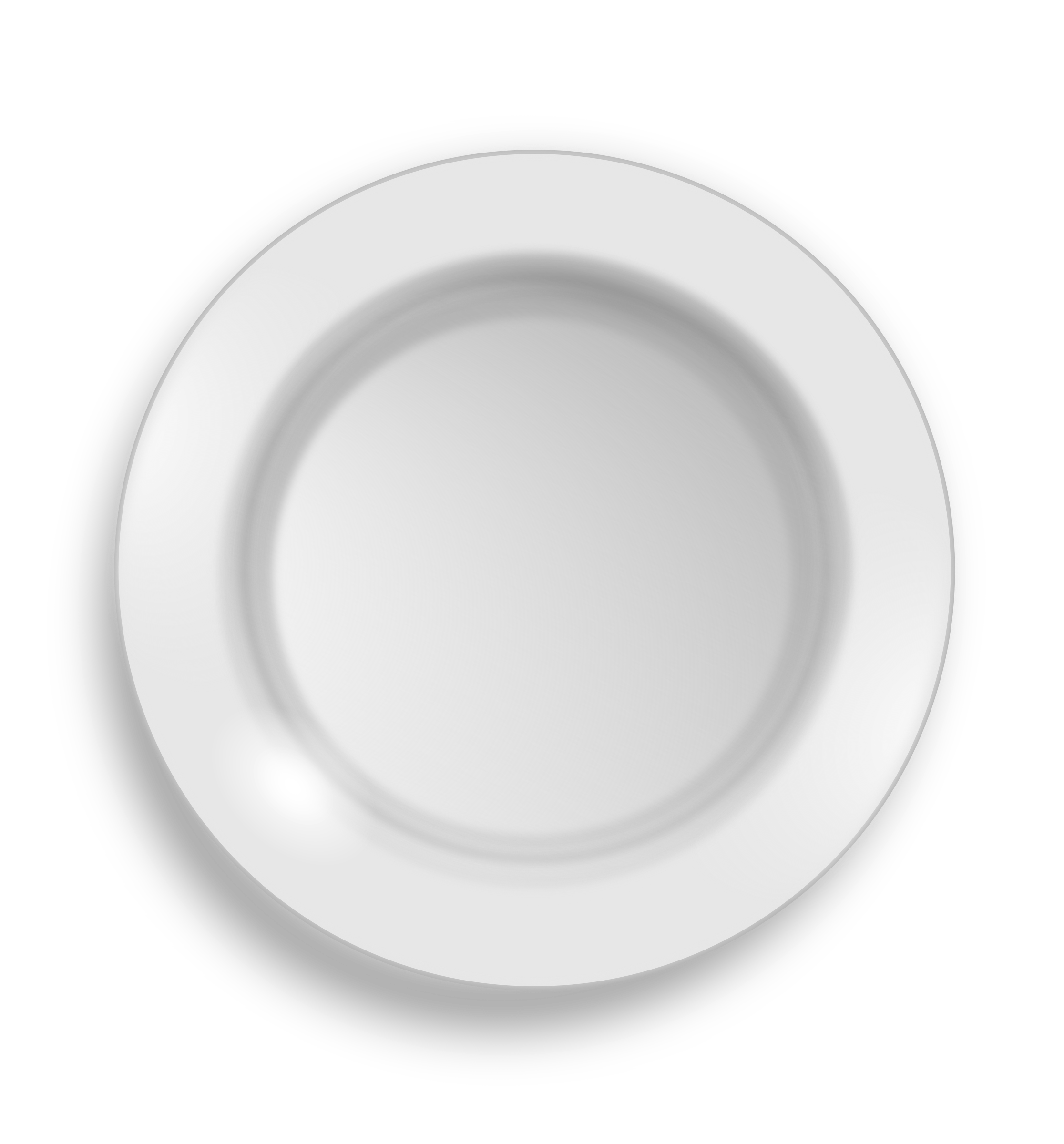 white plate by hrum