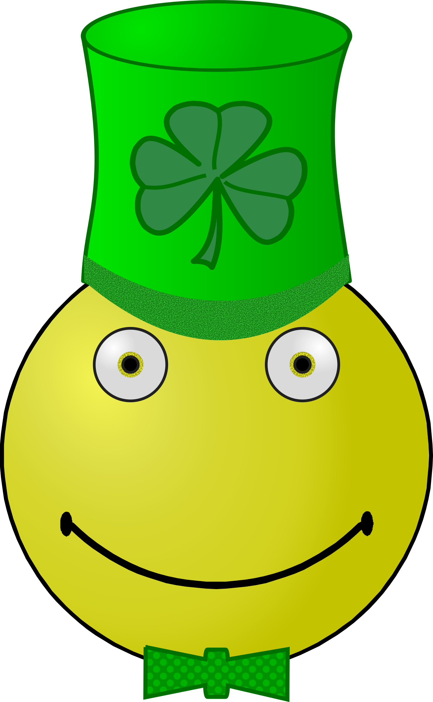 St. Patrick's Day smiley by Arvin61r58