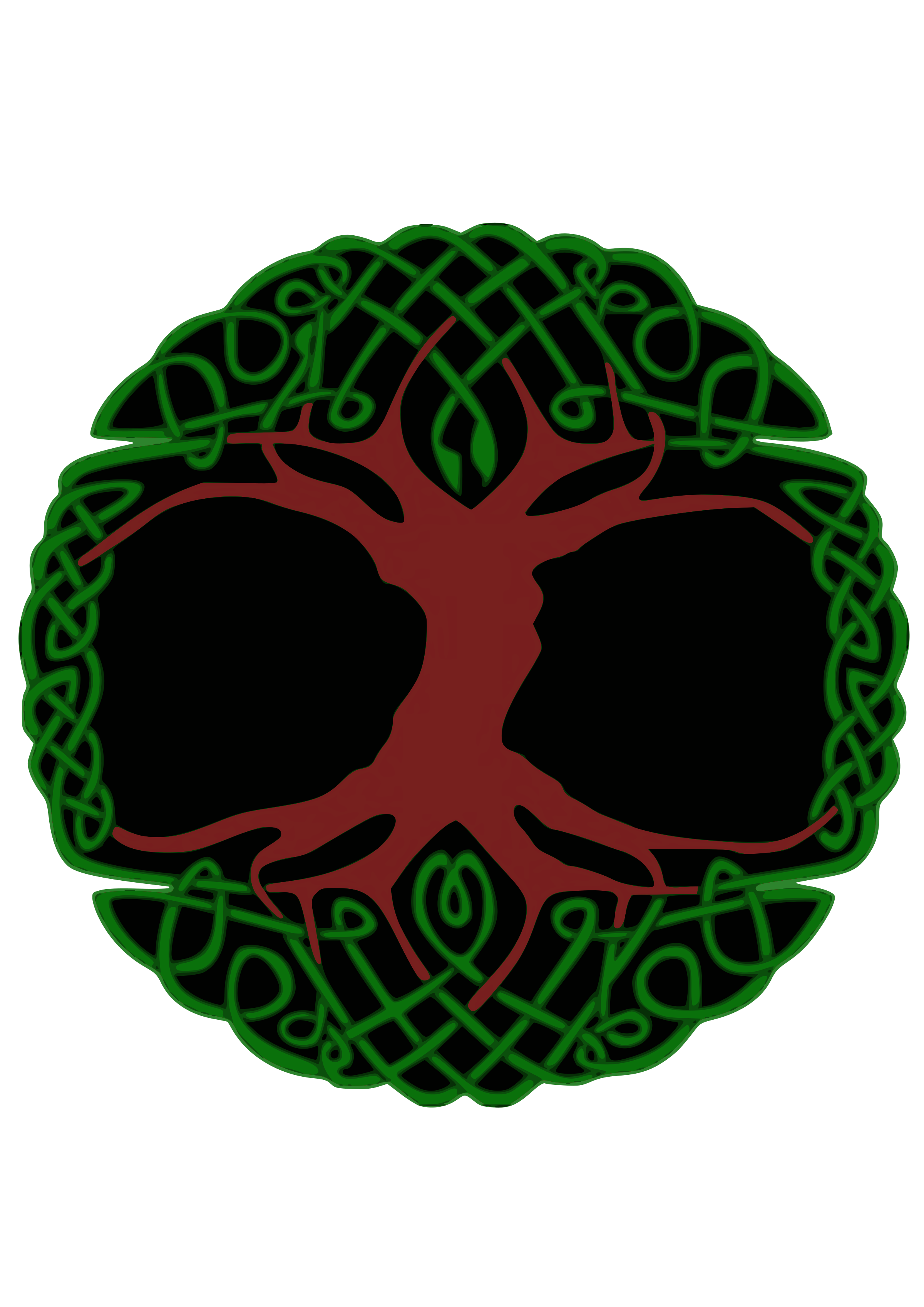 Celtic Tree by Siddymcbill