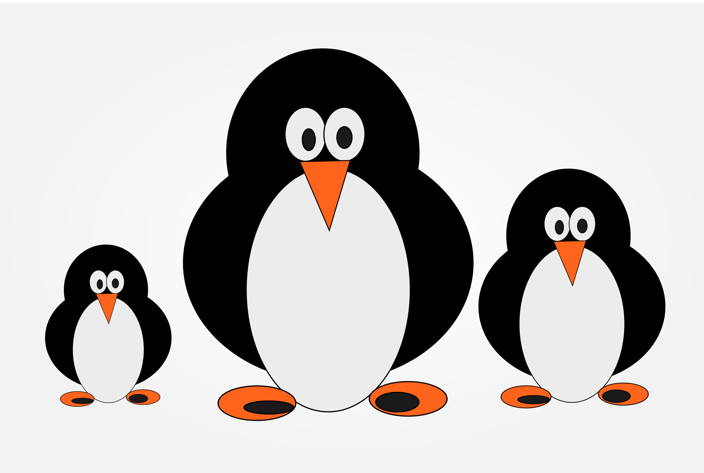 penguin family by techwalkers