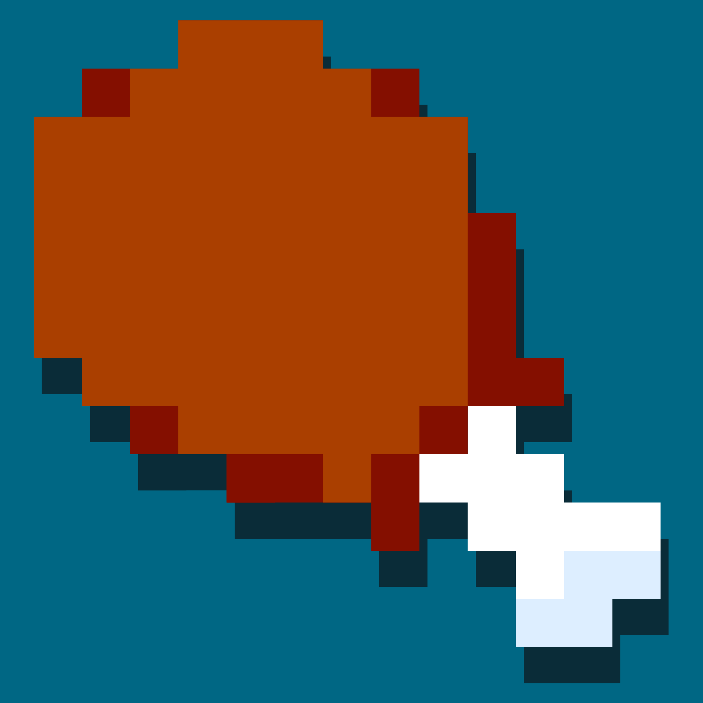 Chicken Leg Icon by pianoBrad