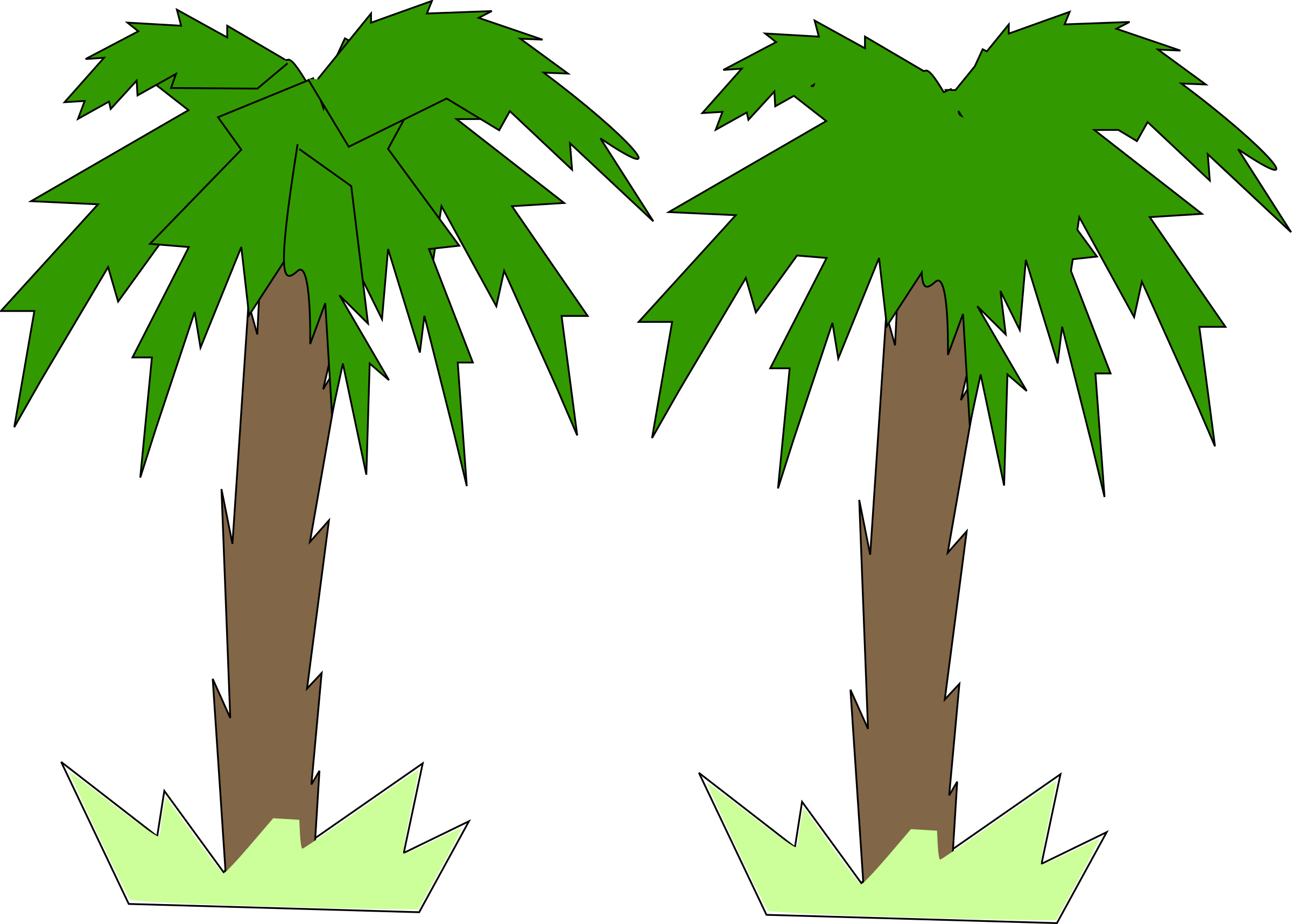 Toon Palm Tree by mehran