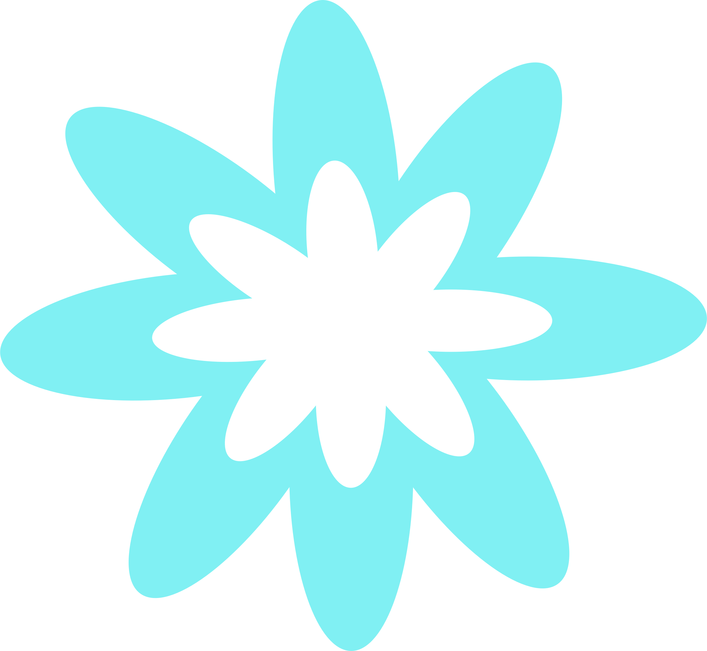 Blue Burst Flower  by Scout