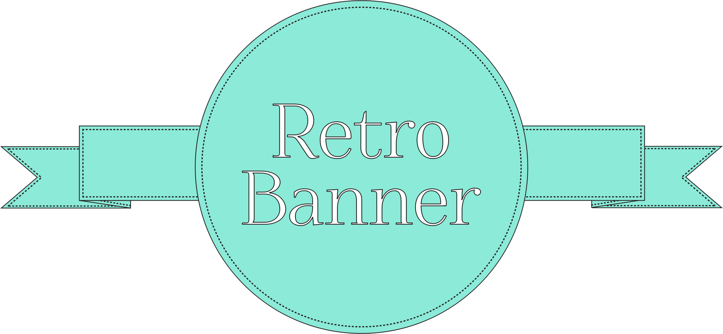 Retro Banner (Reupload) by cinemacookie