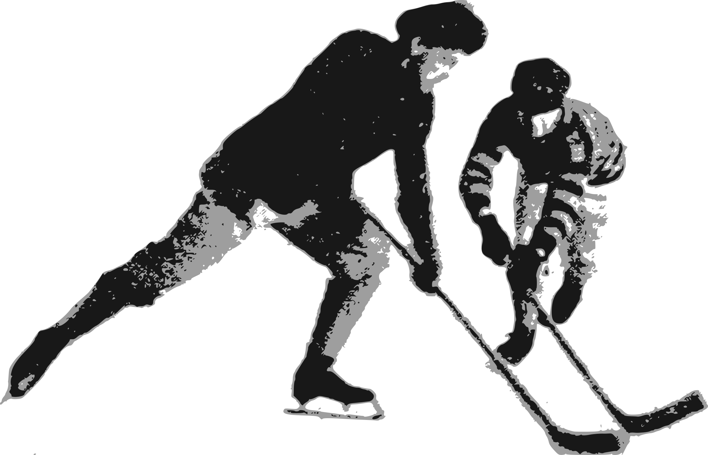Clipart - Ice Hockey