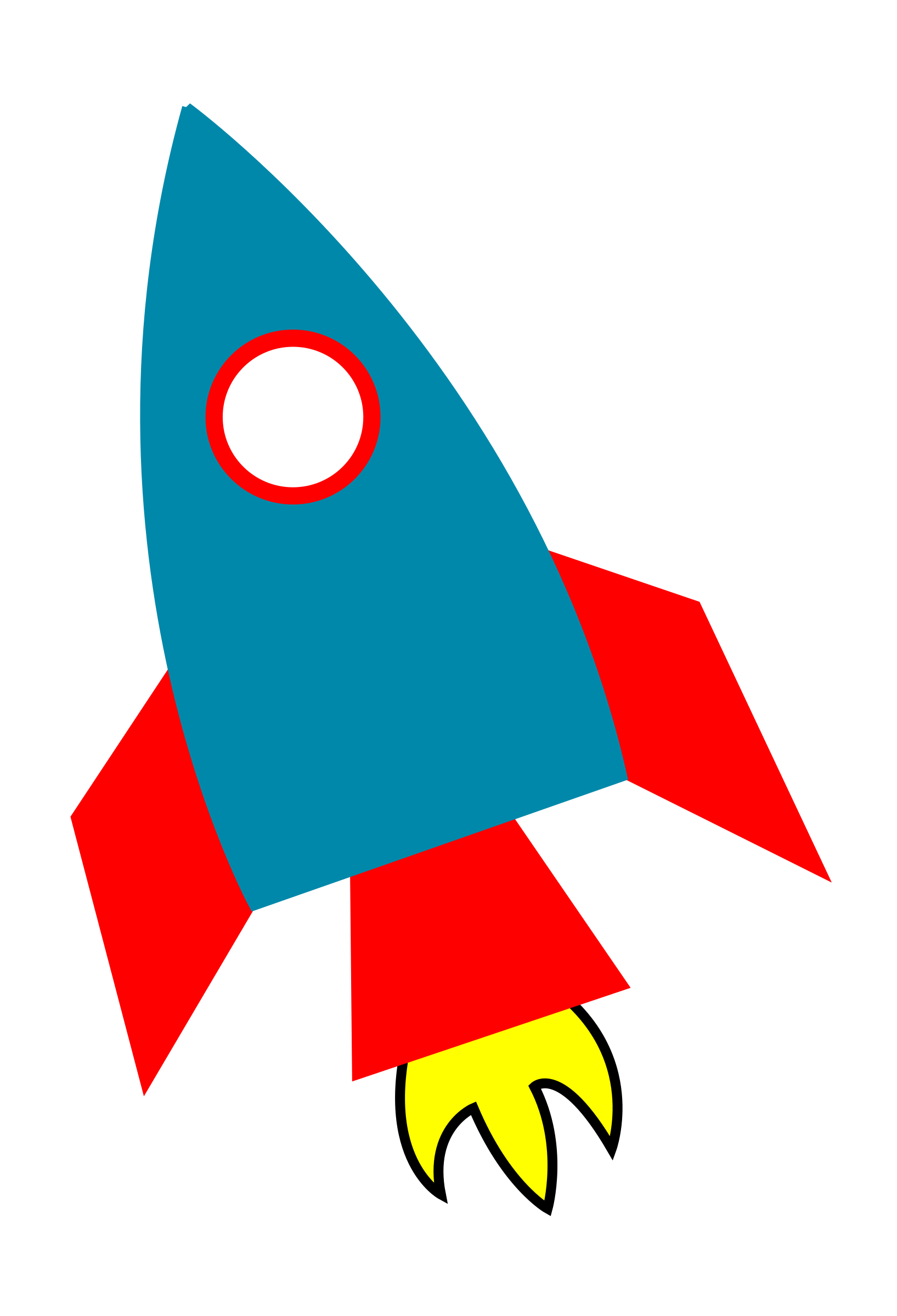 Space rocket by agomjo