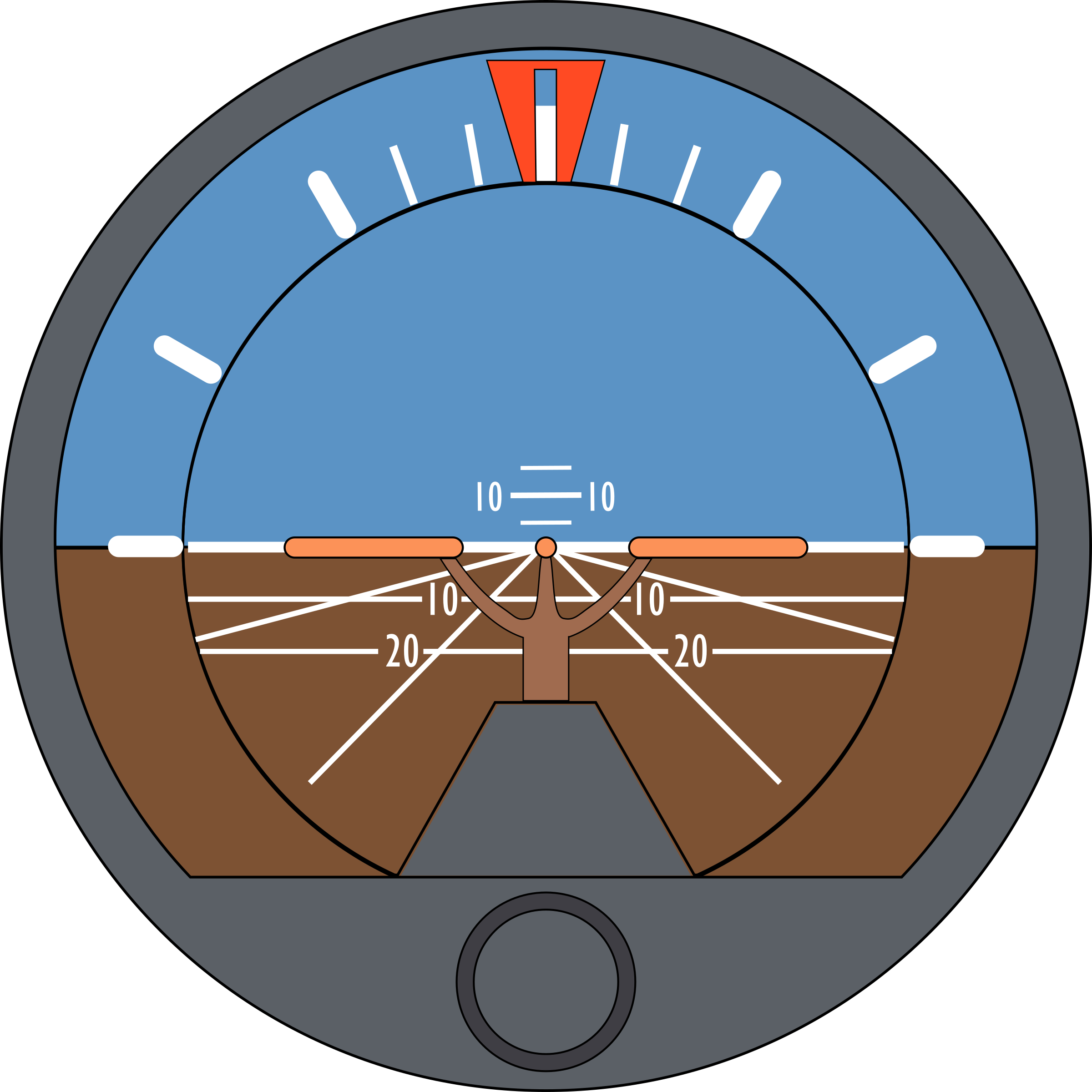 Attitude Indicator by Startright