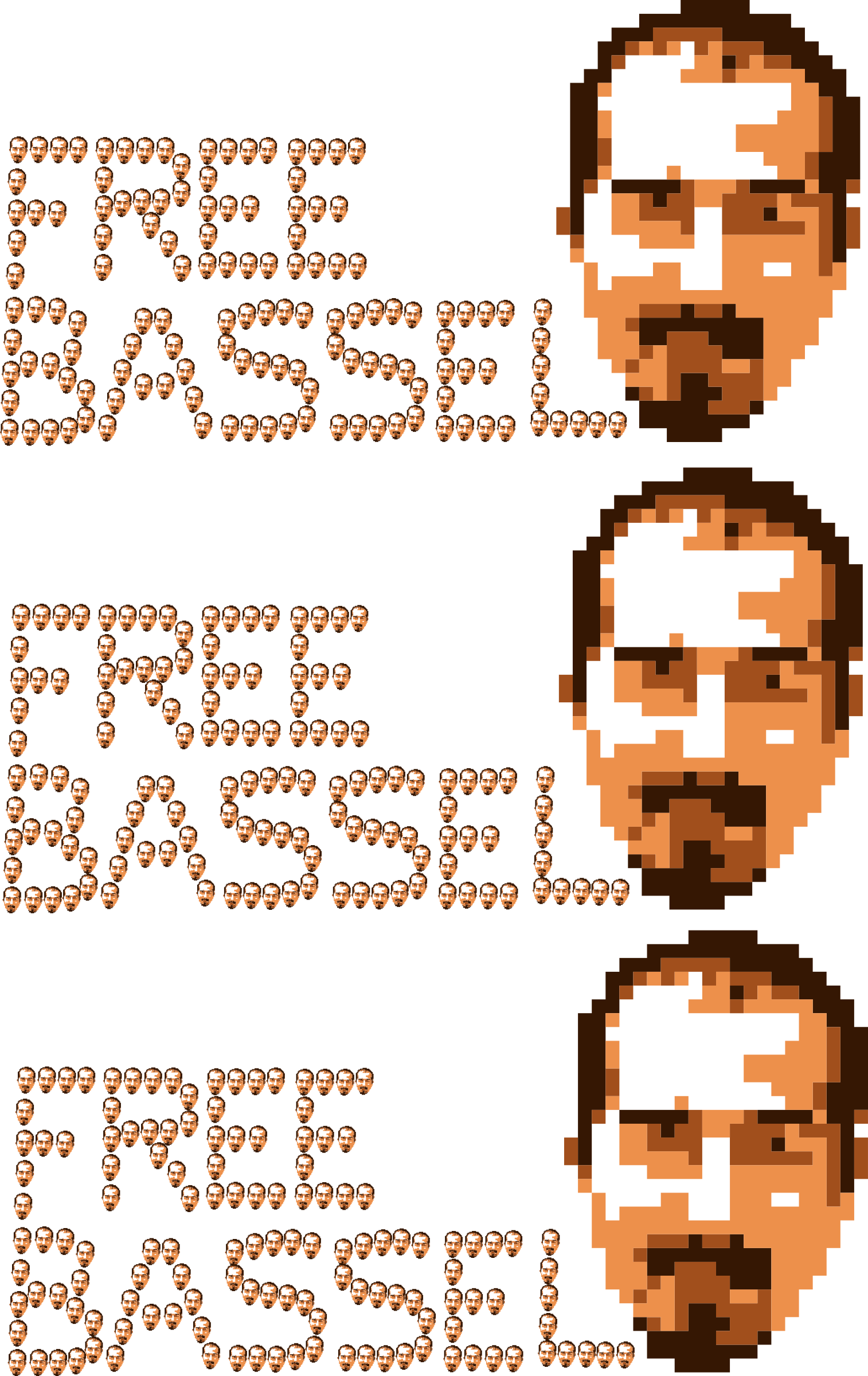 Freebassel 2014 8BIT 3heads  by jykhui