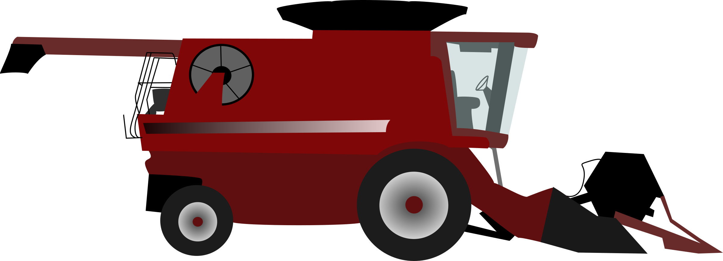 Clipart - Combine harvester