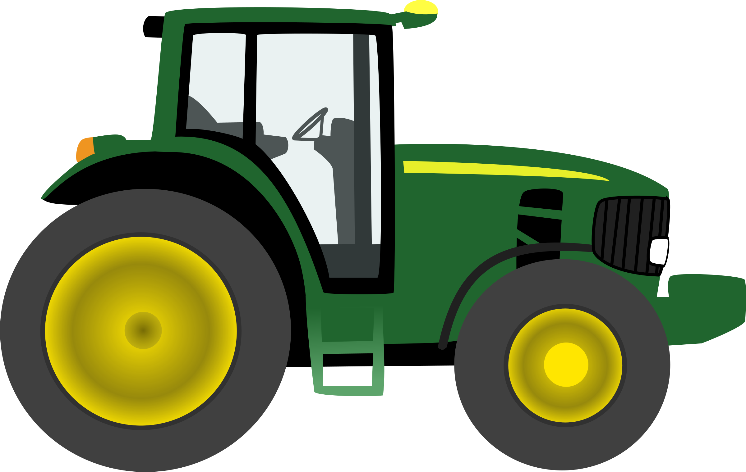 Farm tractor by tmjbeary