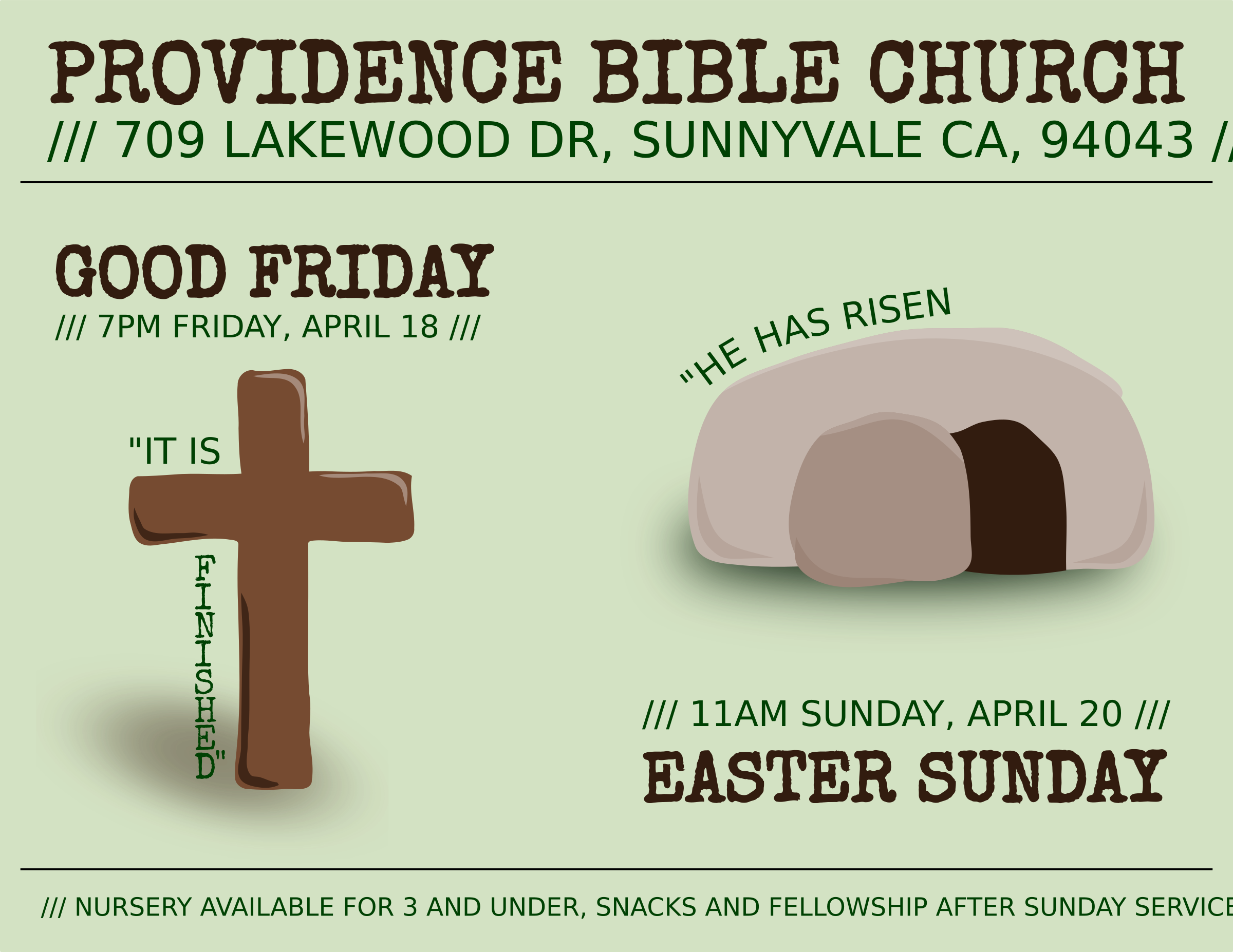 Easter flyer by dear_theophilus