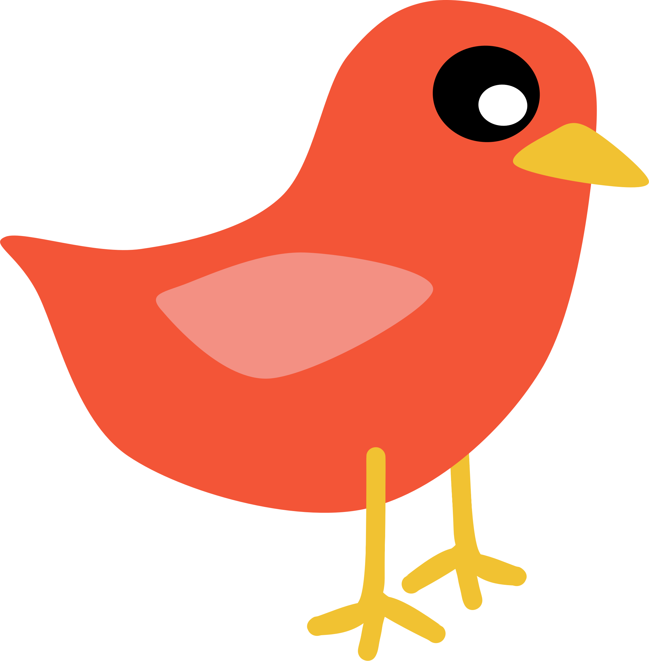 clipart red bird rh openclipart org red cardinal bird clipart red bird clip art free