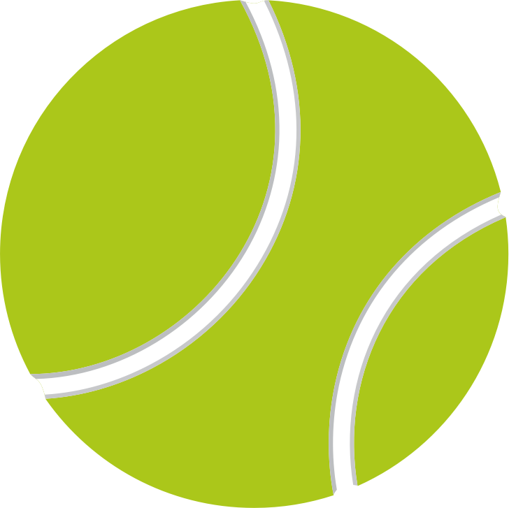 Tennis ball by casino