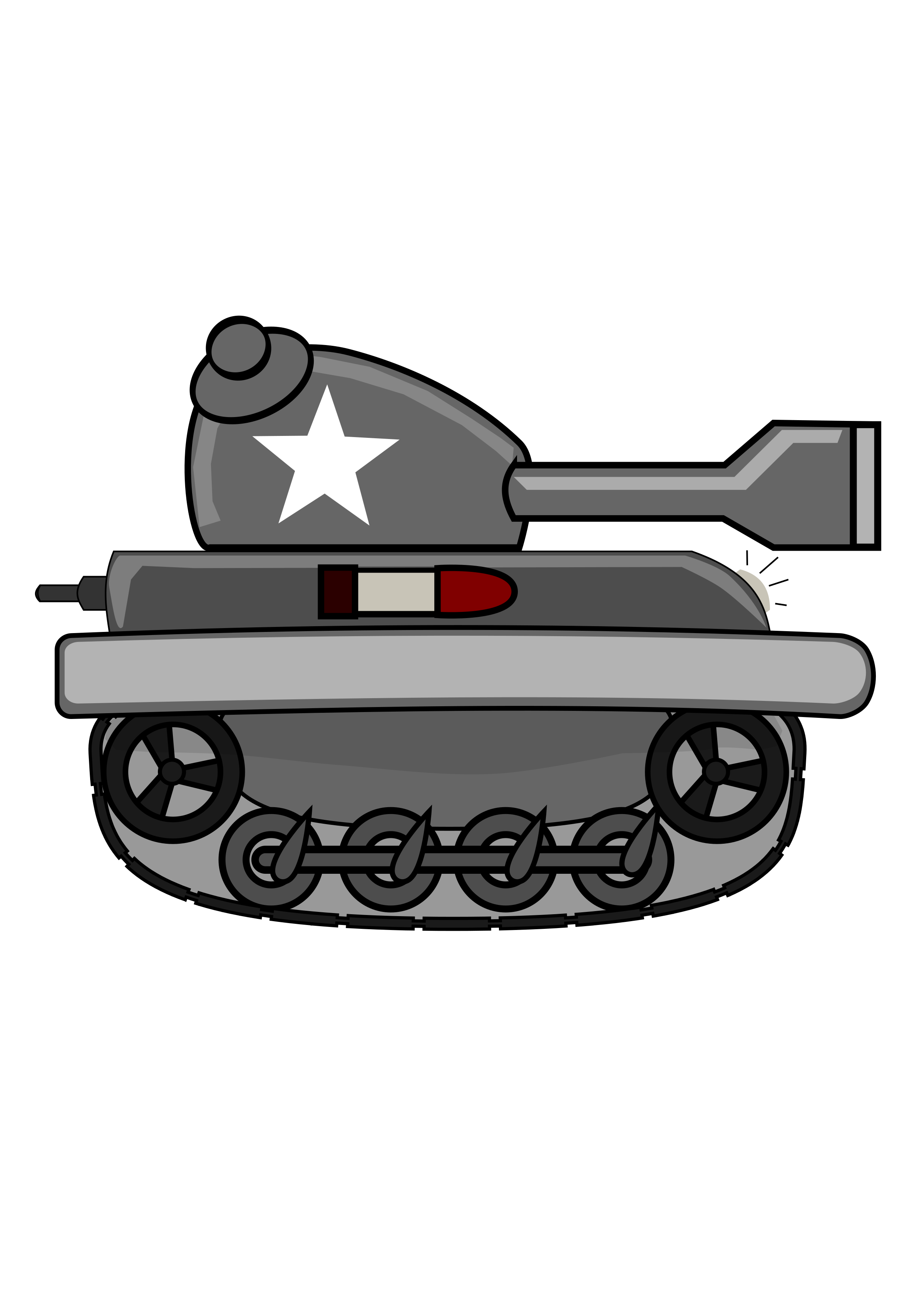 Cartoon Tank by firestorm200