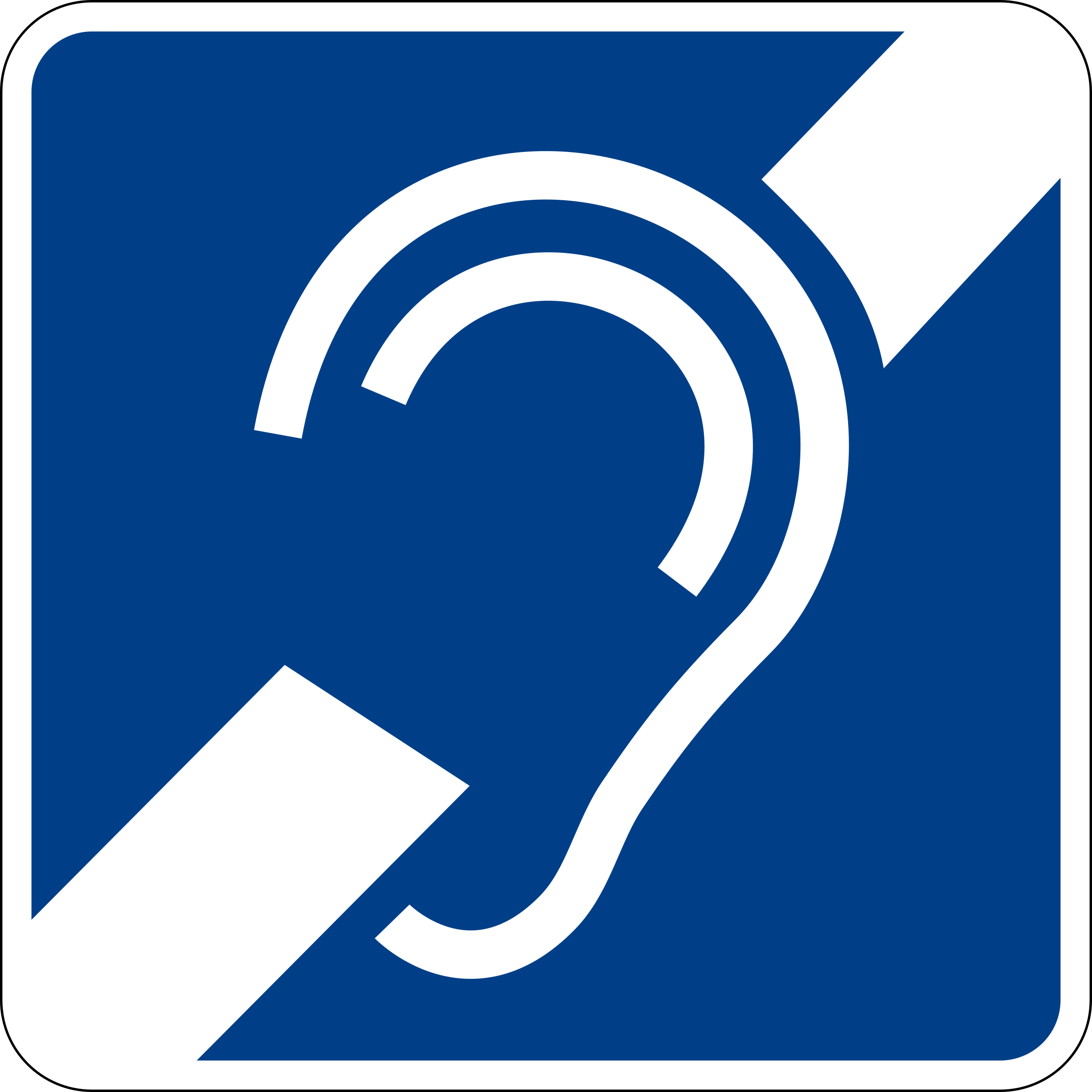 hearing impairment sign by luffy86