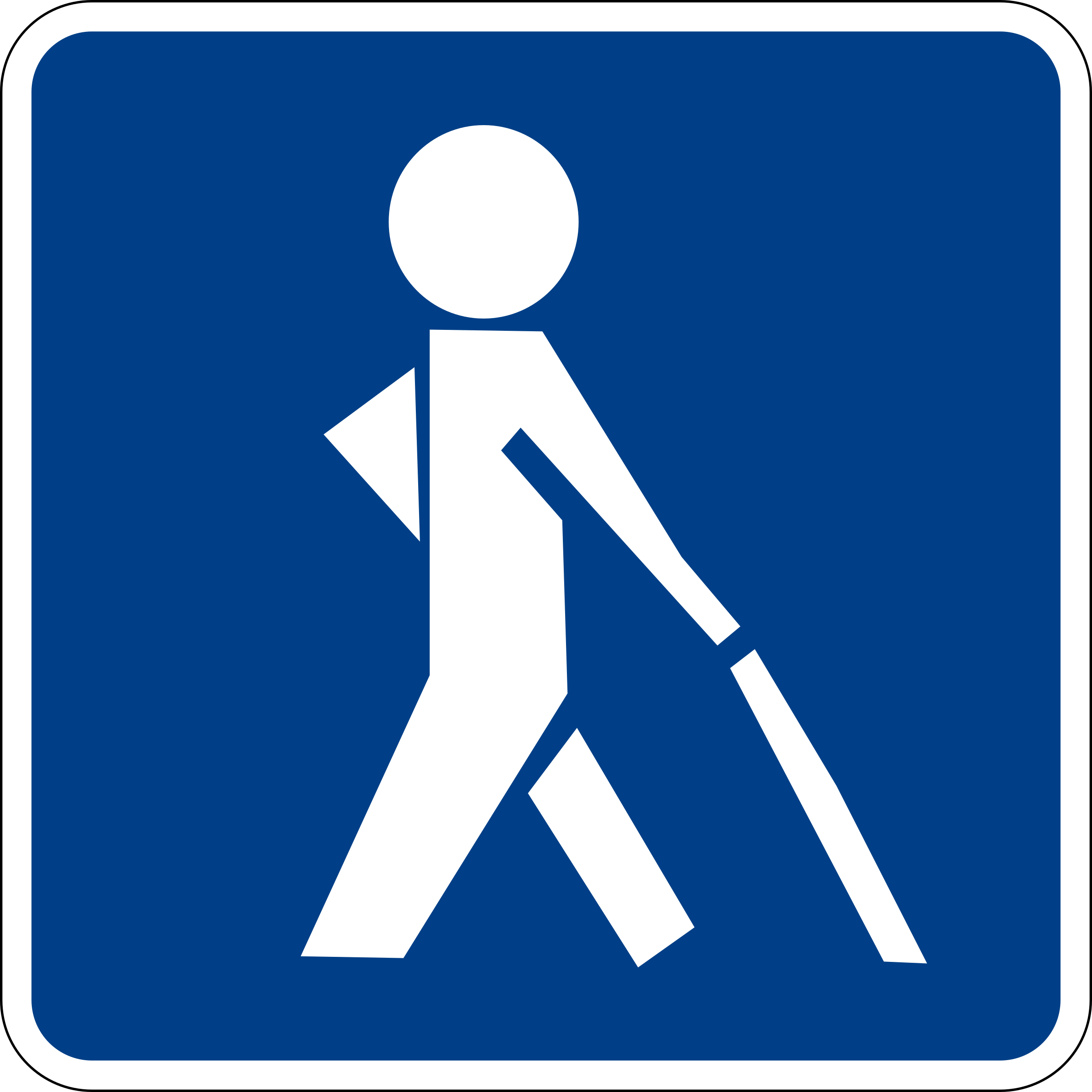 Visual impairment sign by luffy86