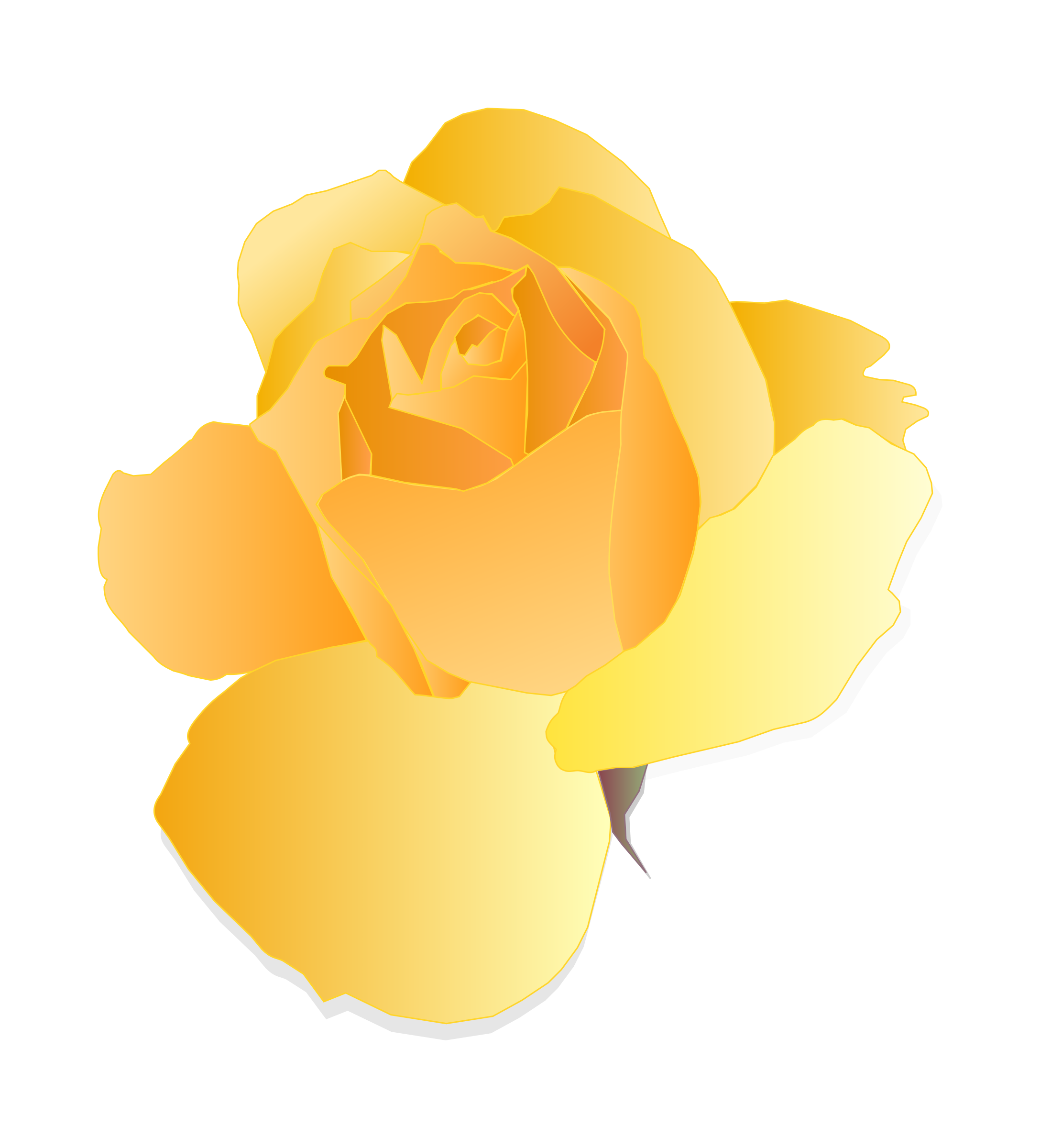 Yellow Rose by mirys