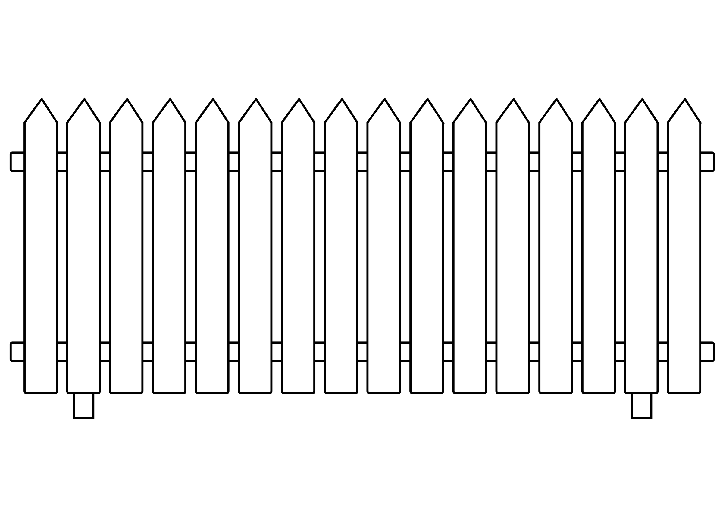 White Picket Fence by ghosthand