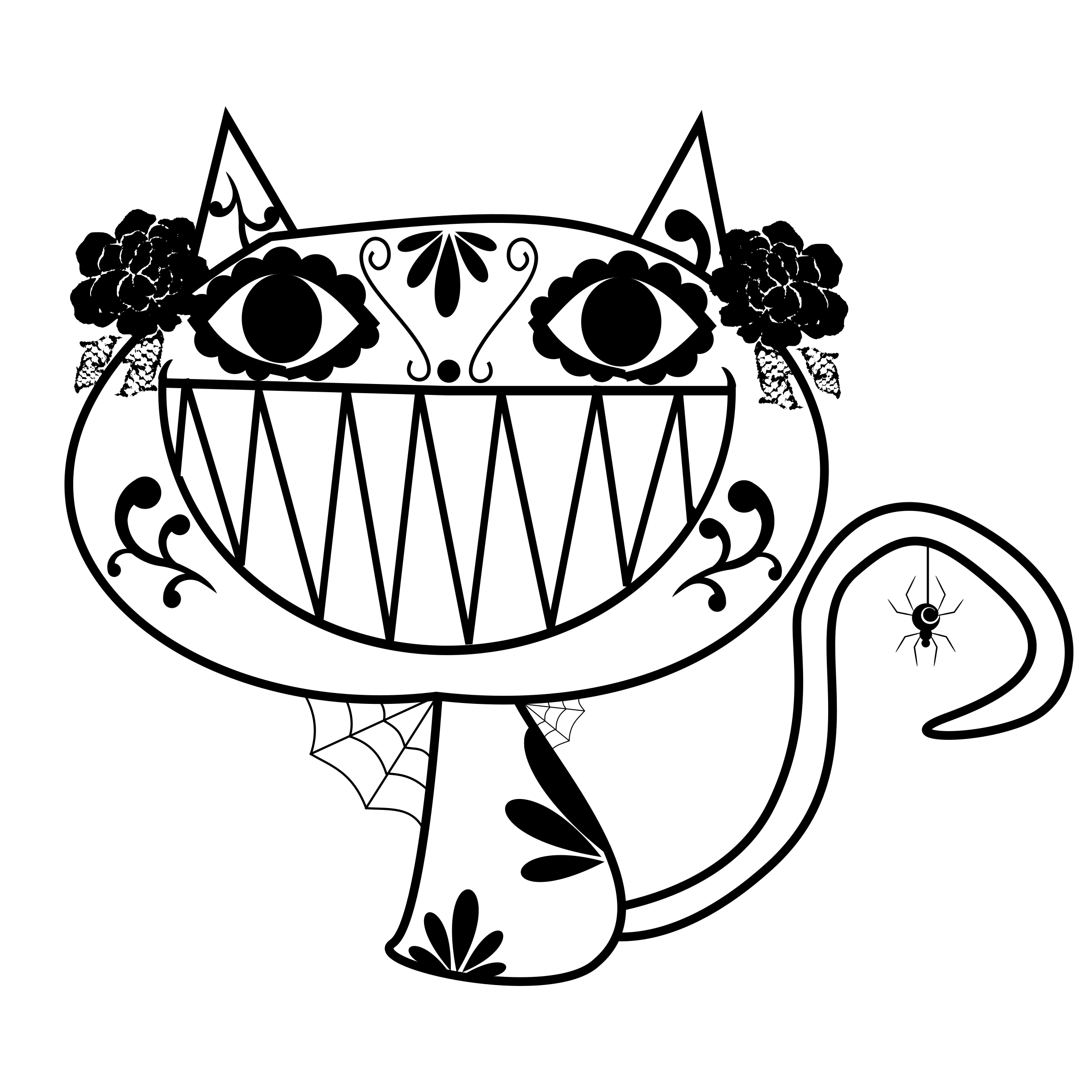 Catrina Smily Cat by Jeukel