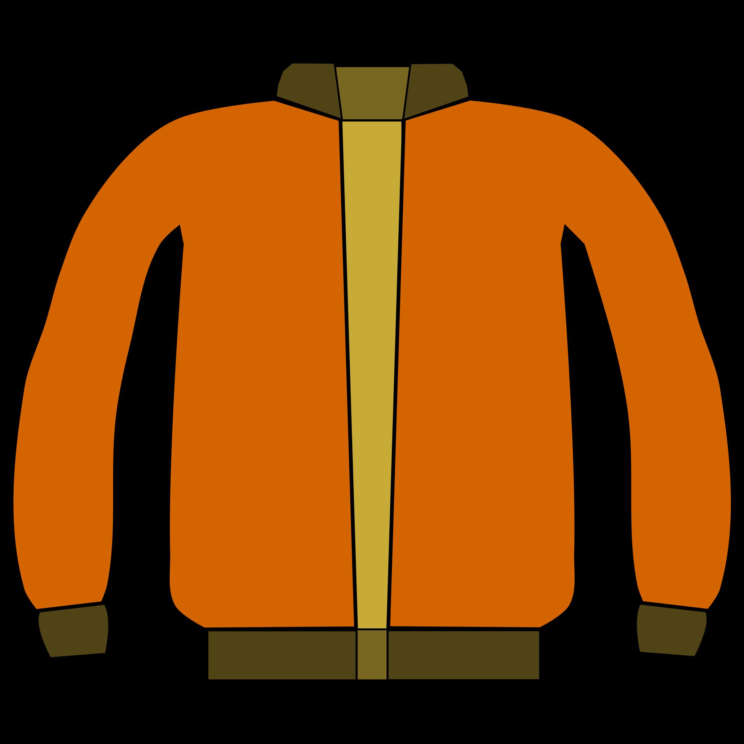 Jacket Clip Art Image  RoyaltyFree Vector Clipart Images
