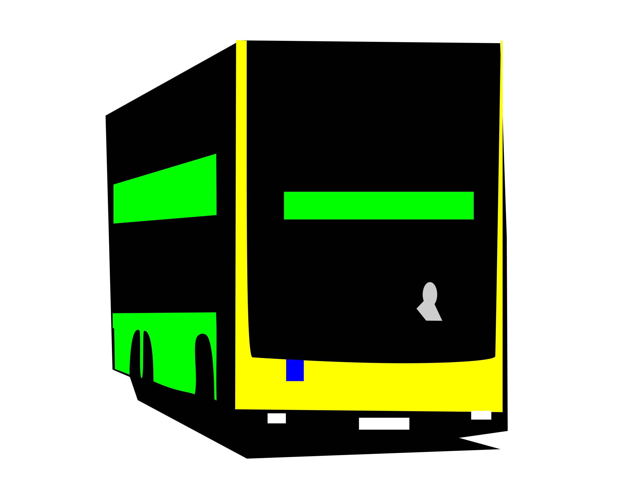 Berliner Doppeldeckerbus by user unknown