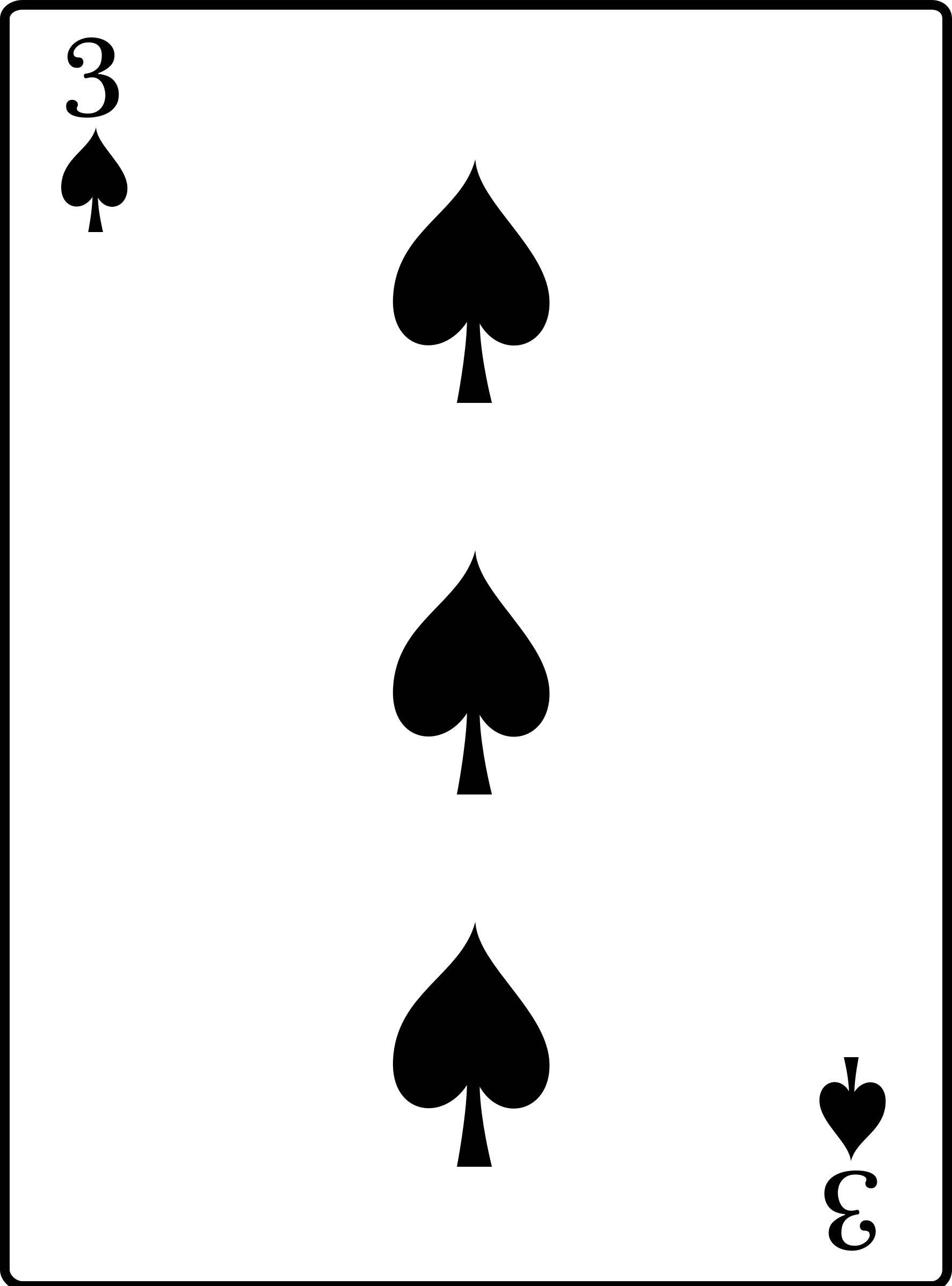 3 of Spades by casino