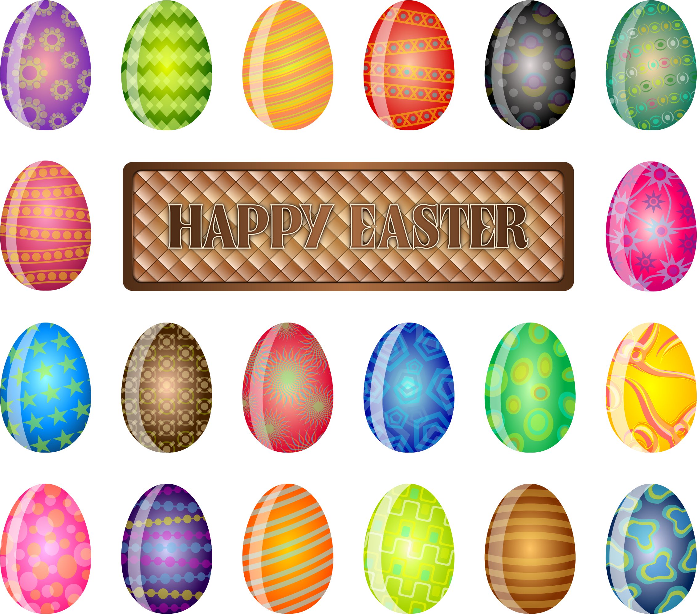 Happy Easter Sign by chad78