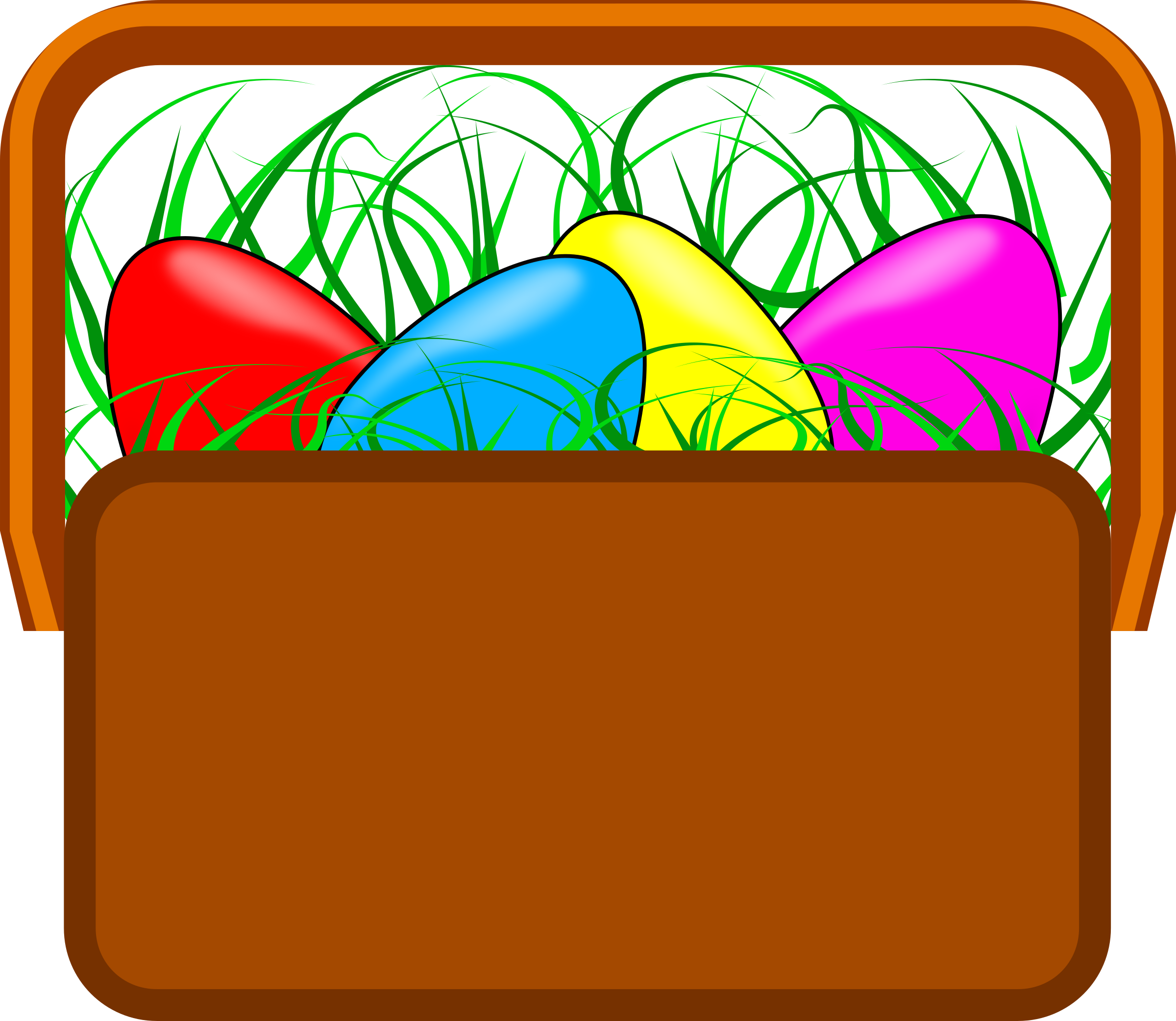 Easter Basket Clipart by jesseakc
