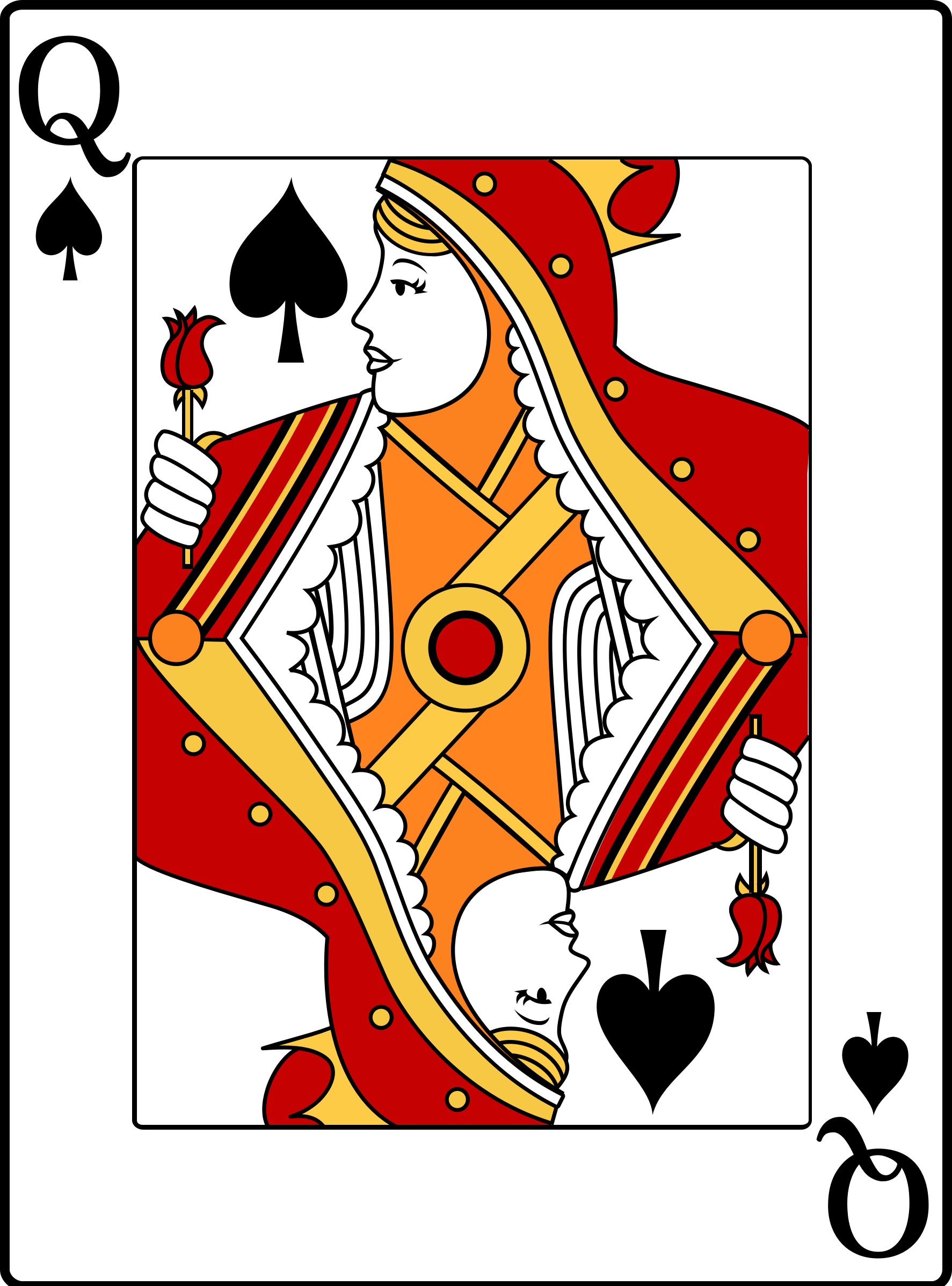 Queen of Spades by casino