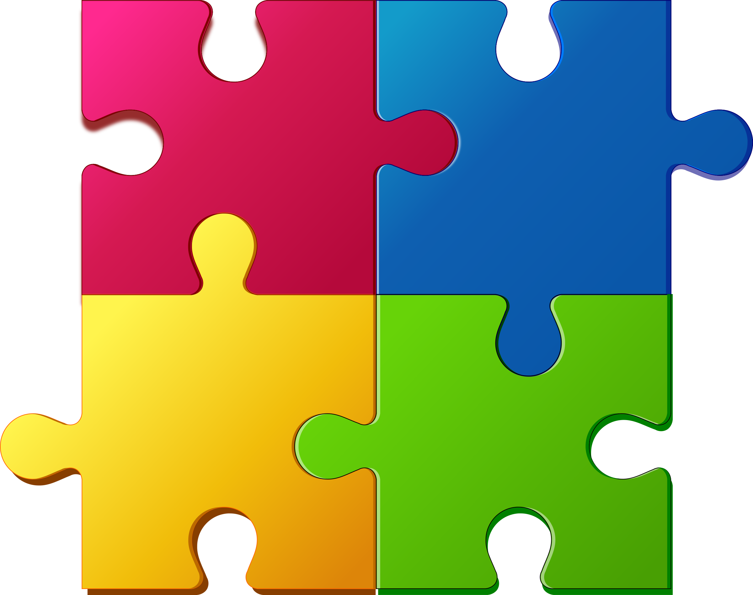 Clipart Jigsaw Puzzle