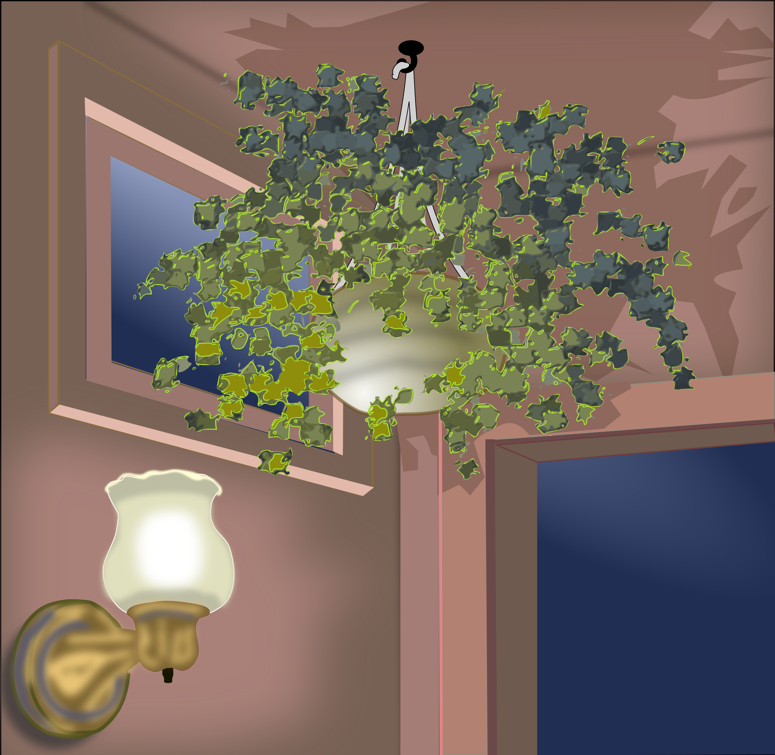 Hanging Plant by gubrww2