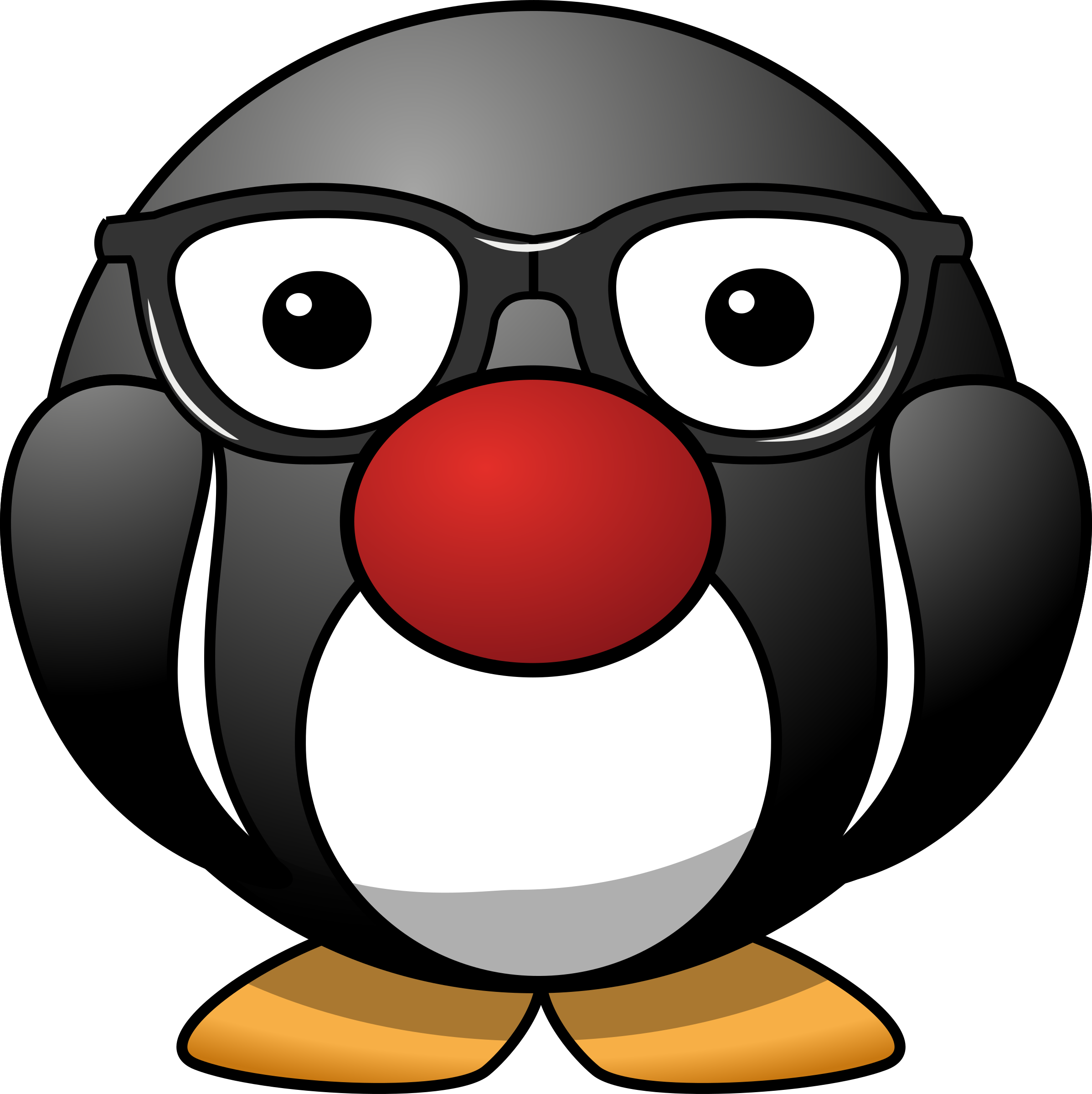Pengi - We used him as a sticker hero in our app. by contactr