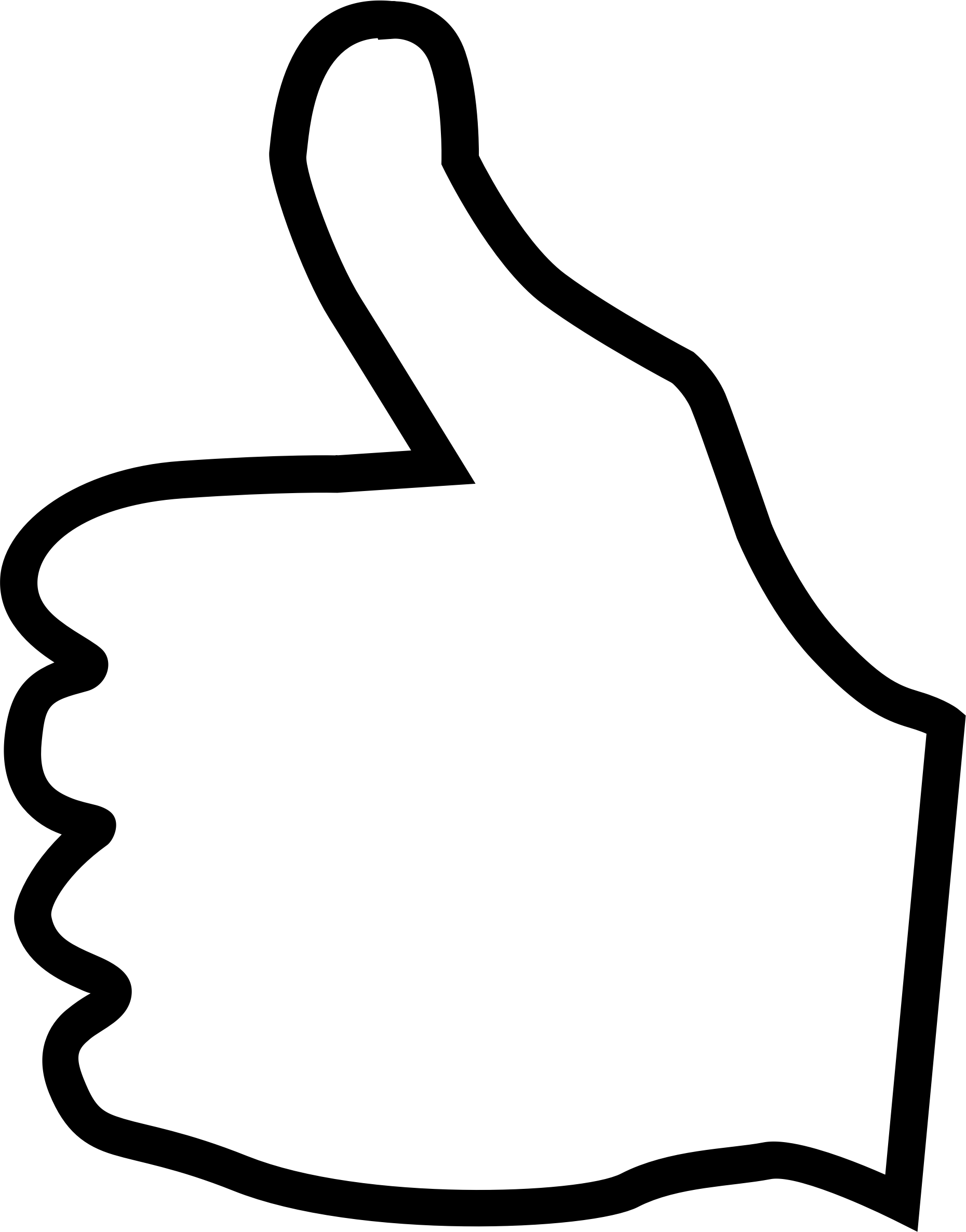 Clipart - Thumbs Up