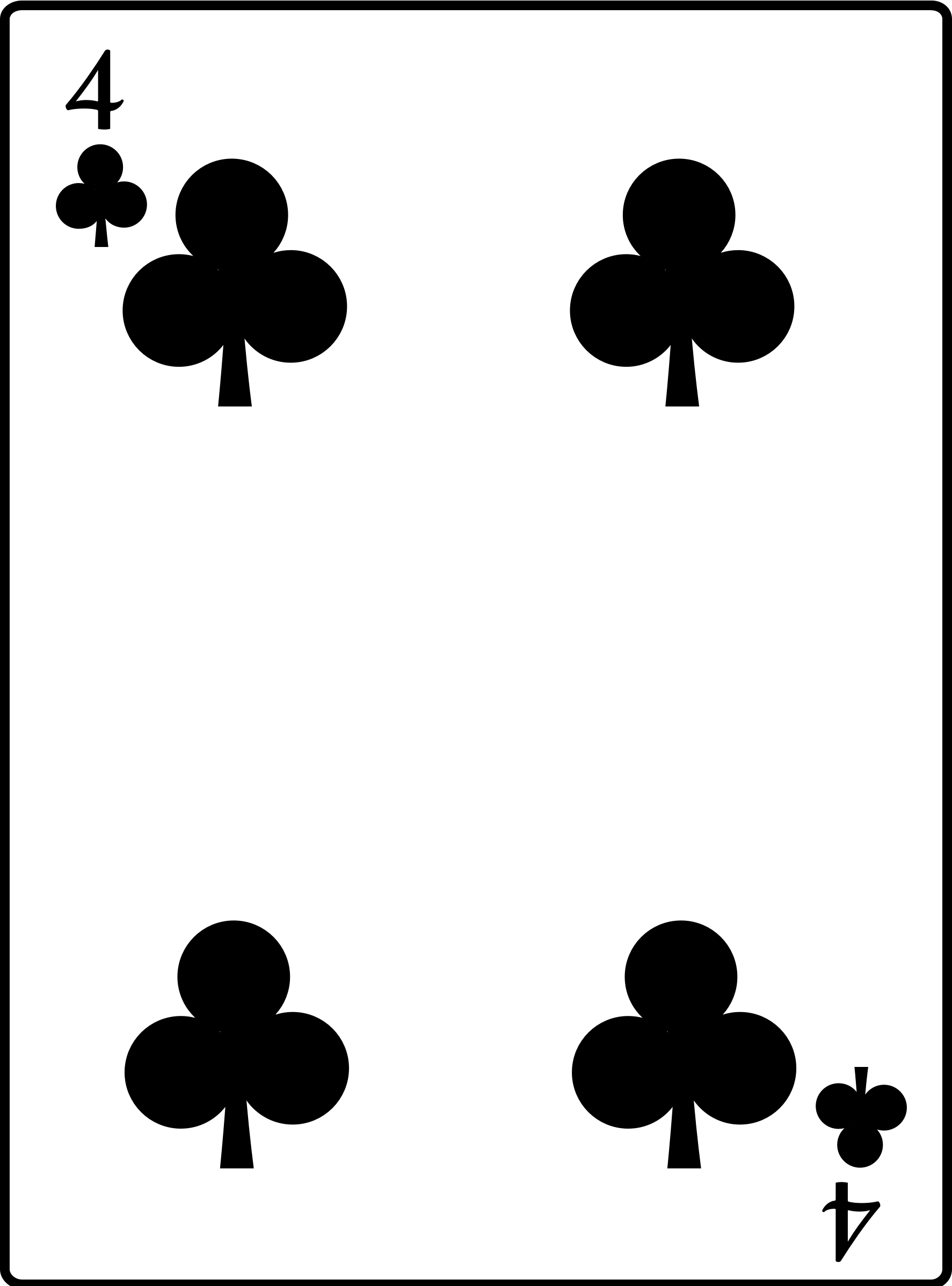 4 of Clubs by casino