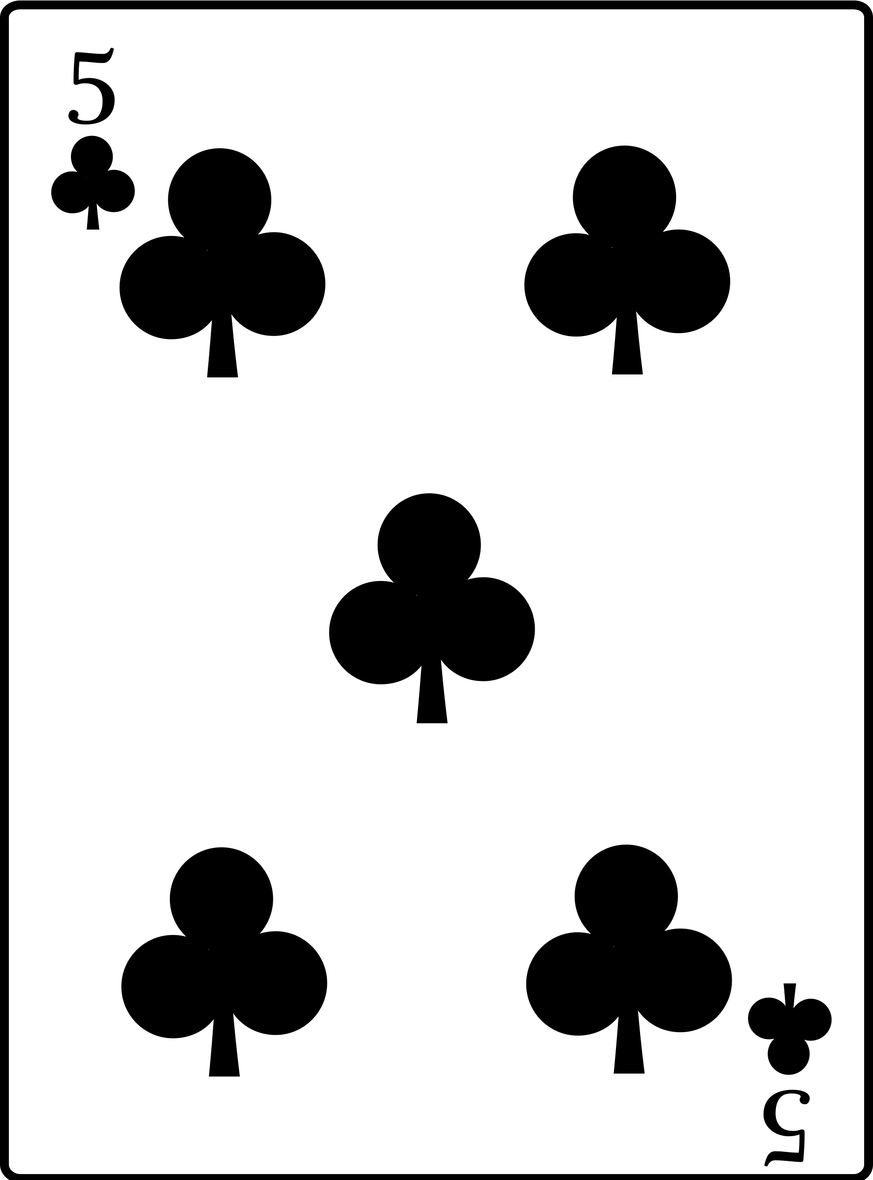 5 of Clubs by casino