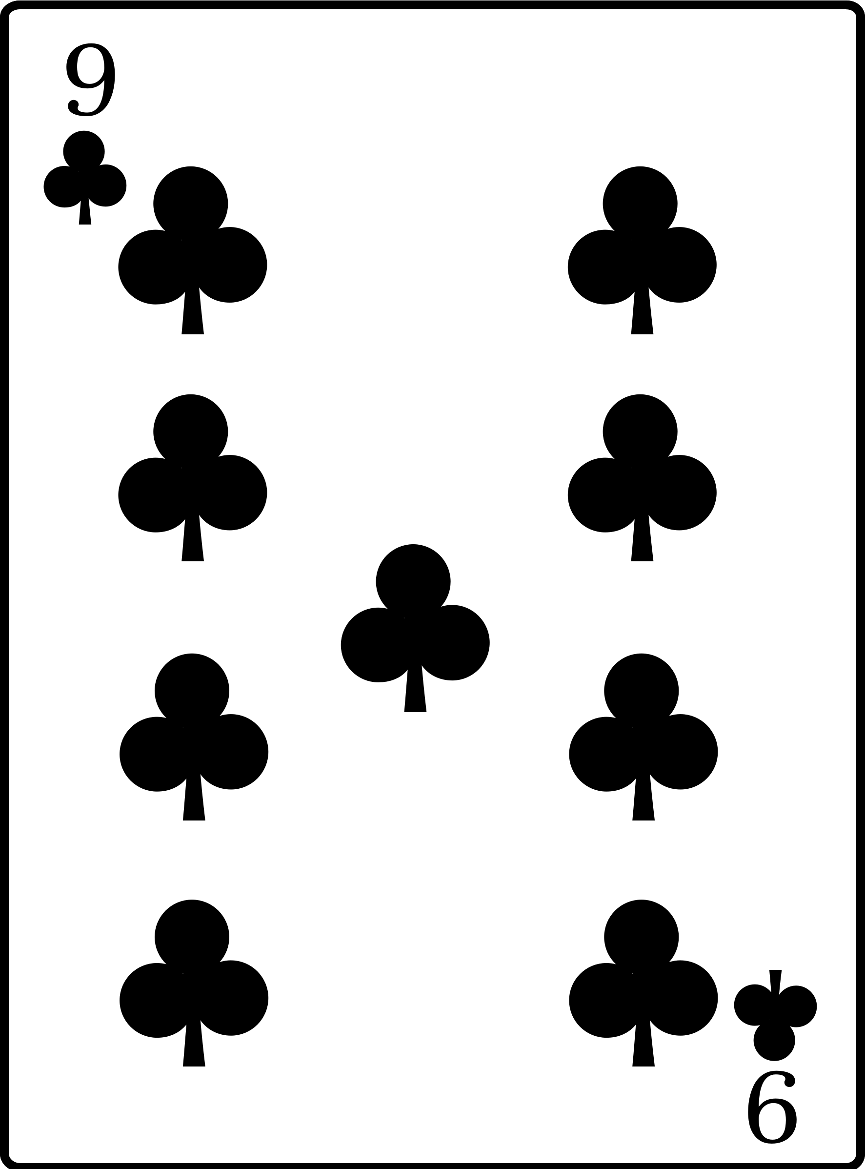 9 of Clubs by casino